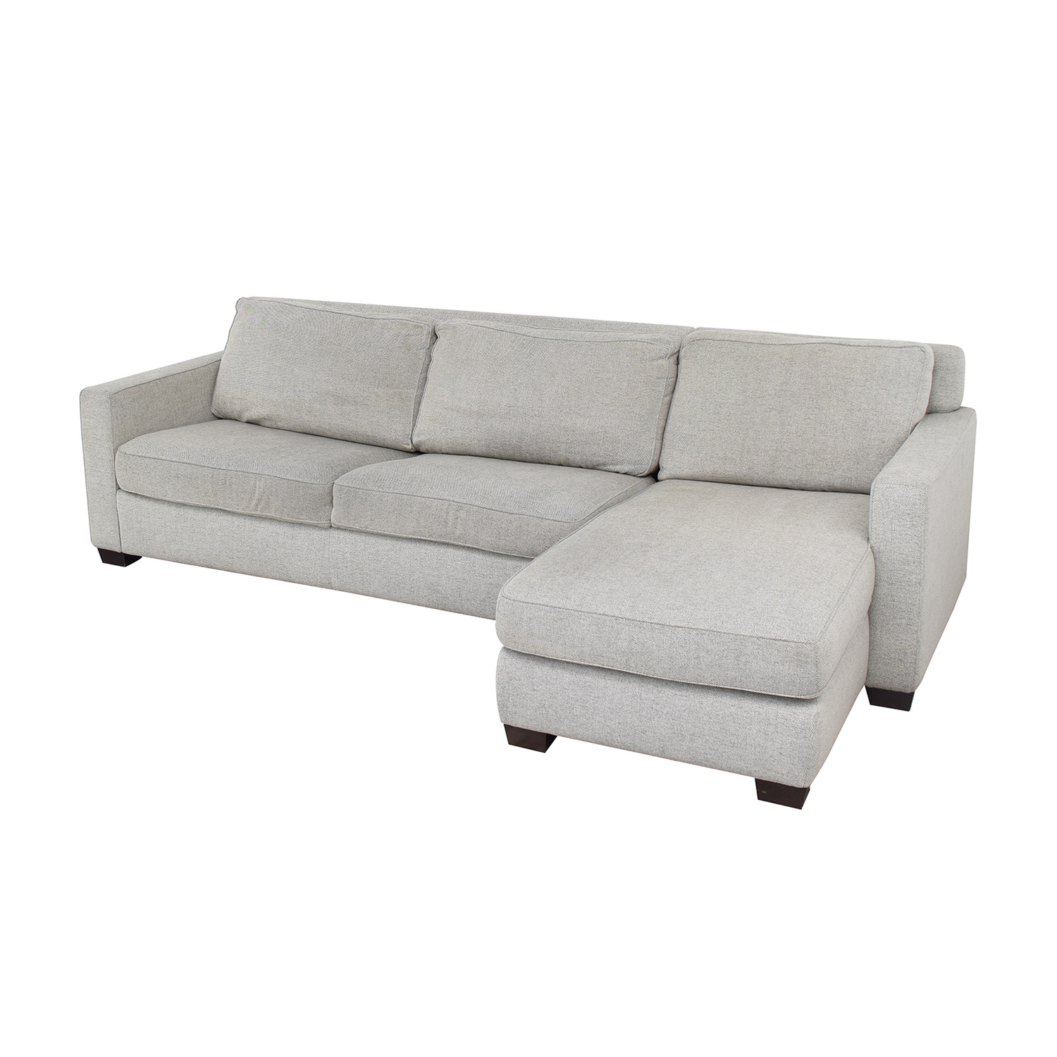 West Elm West Elm Henry Left Arm Chaise Sleeper Sectional with Storage Sofas