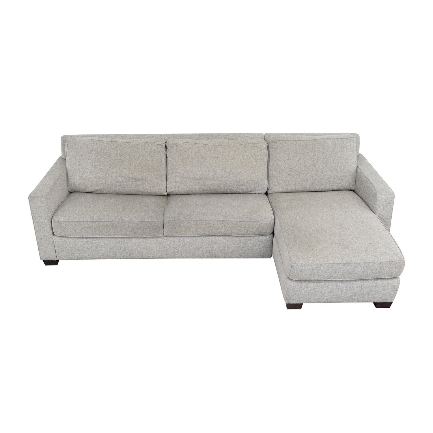 buy West Elm Henry Left Arm Chaise Sleeper Sectional with Storage West Elm Sofas