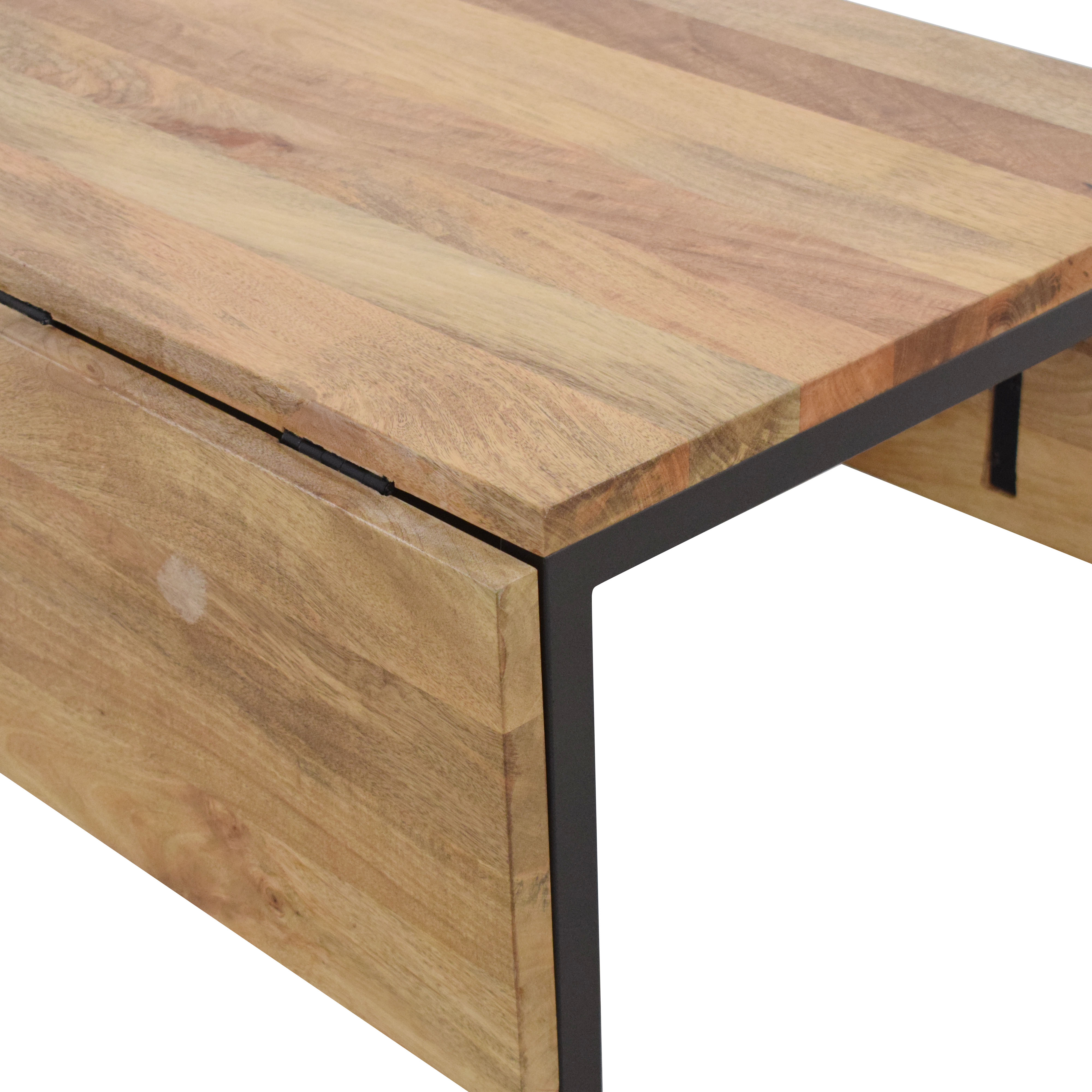 Box Frame Drop Leaf Dining Table
