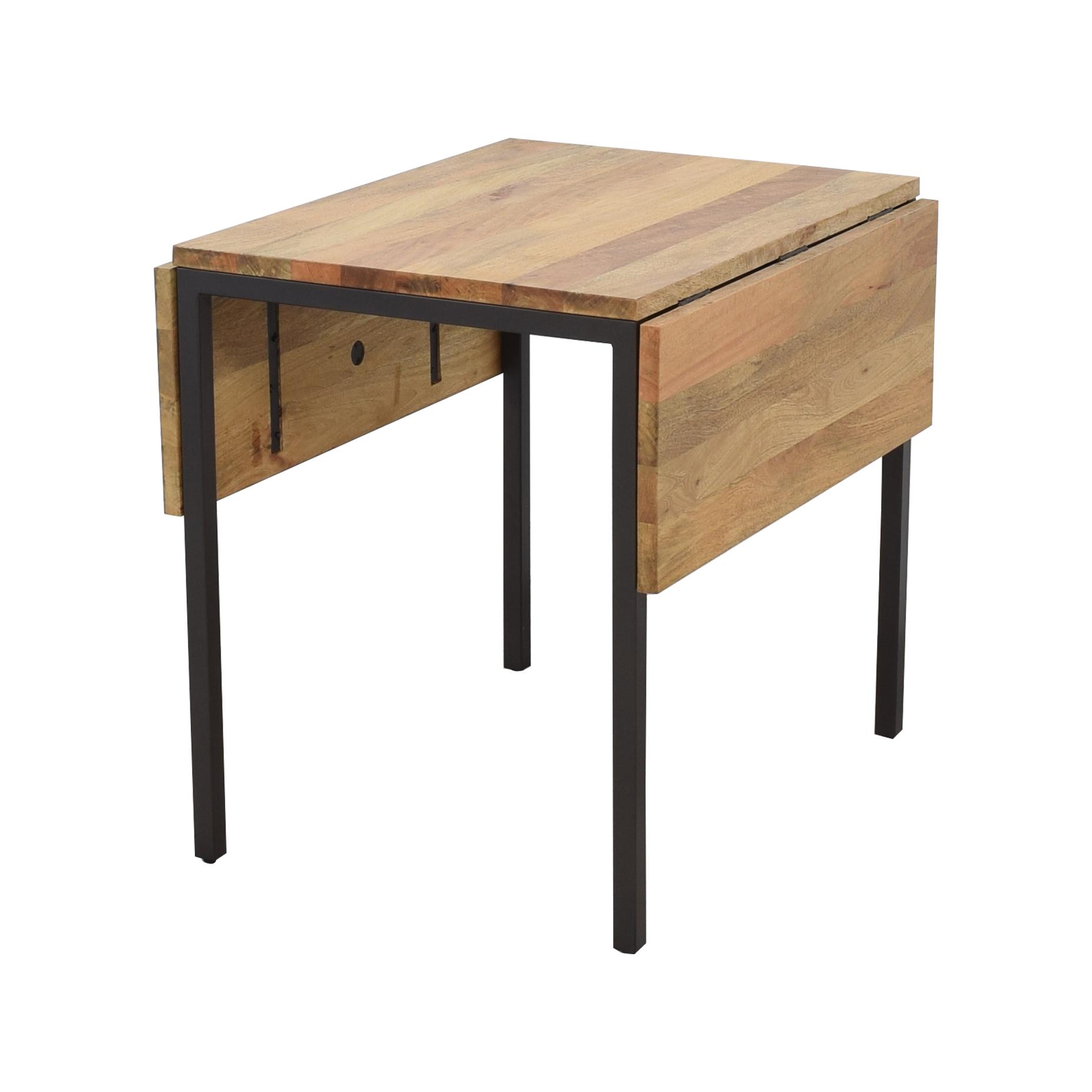 West Elm West Elm Box Frame Drop Leaf Dining Table