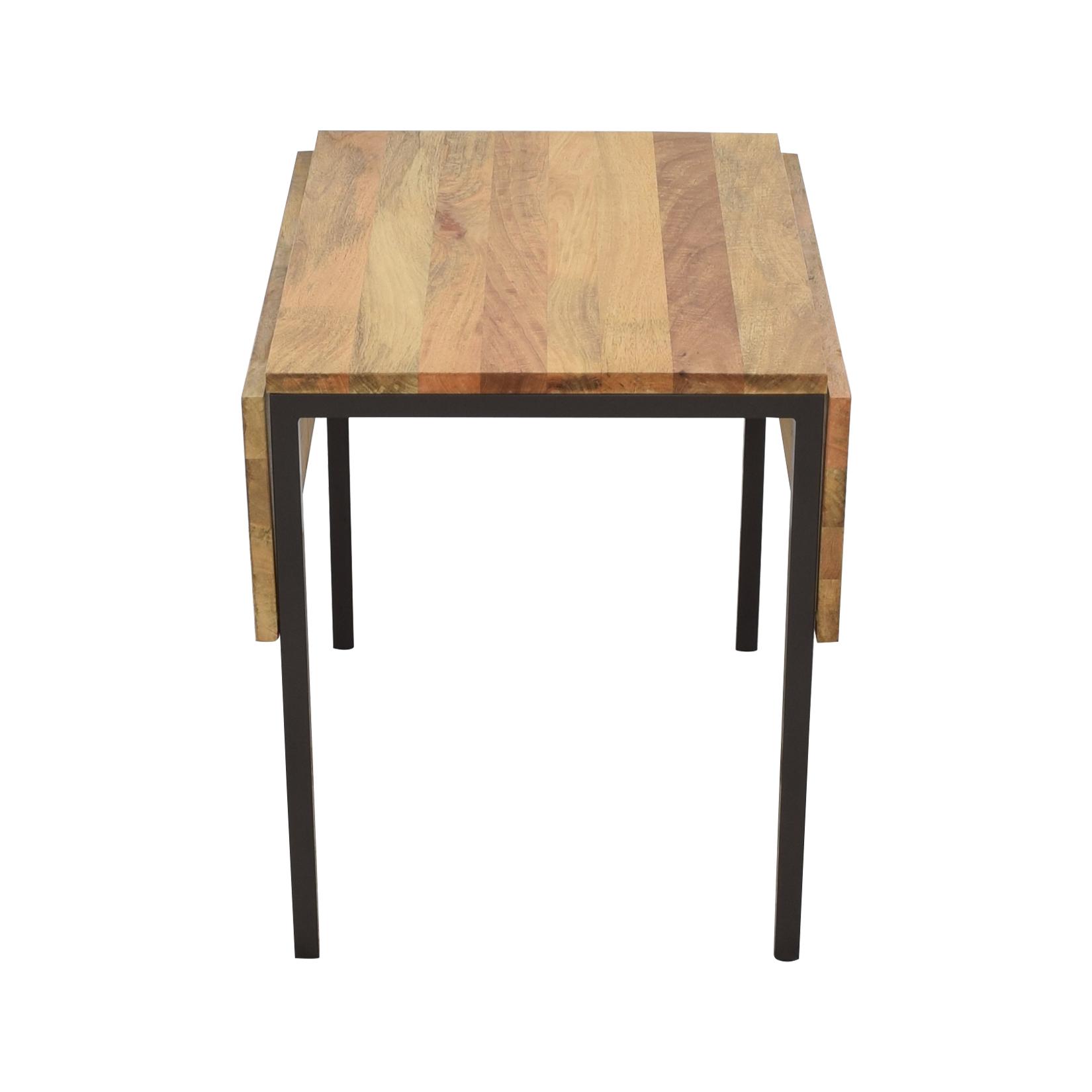 West Elm West Elm Box Frame Drop Leaf Dining Table discount