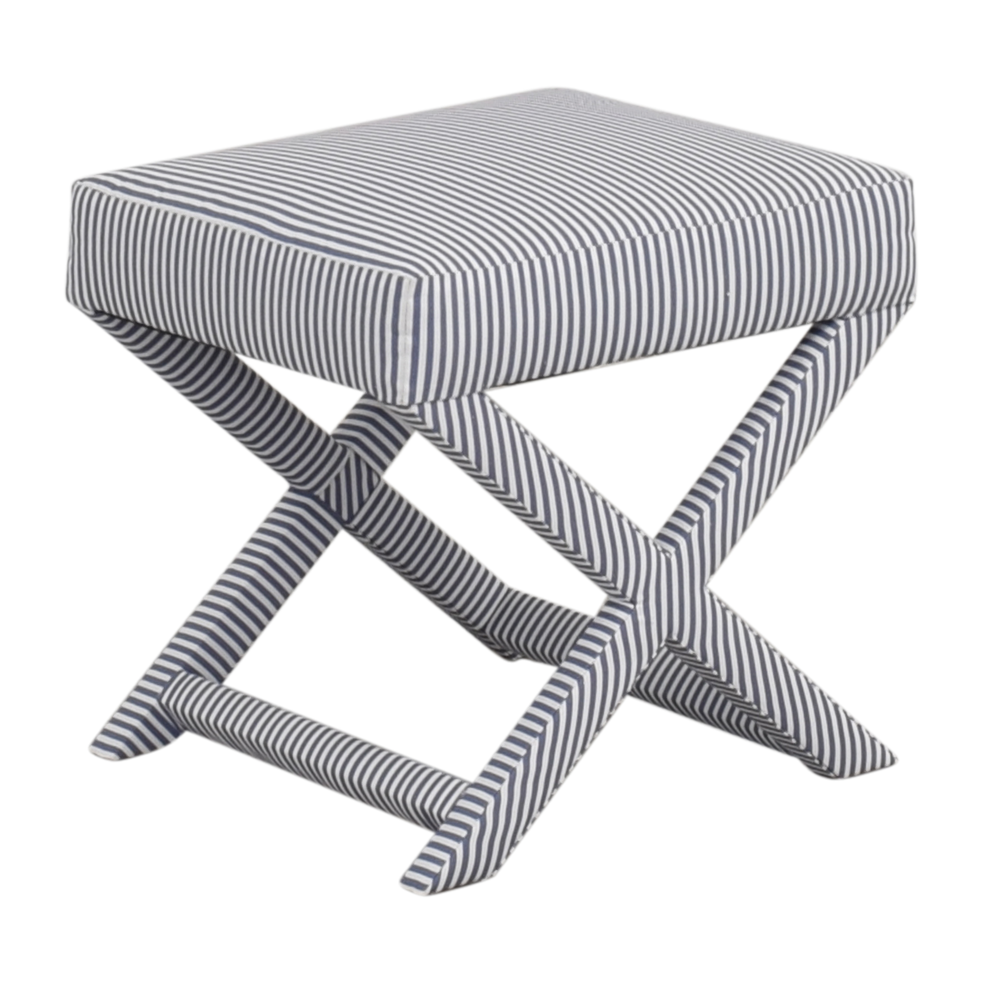 buy The Inside The Inside Striped X-Bench online