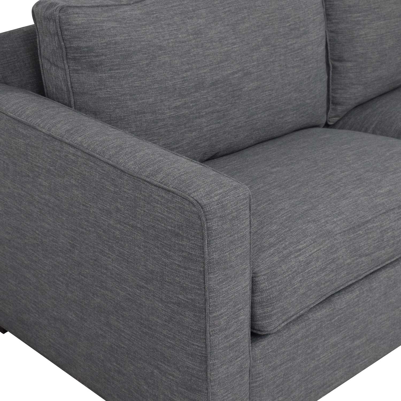 shop Crate & Barrel Crate & Barrel Davis Queen Sleeper Sofa online