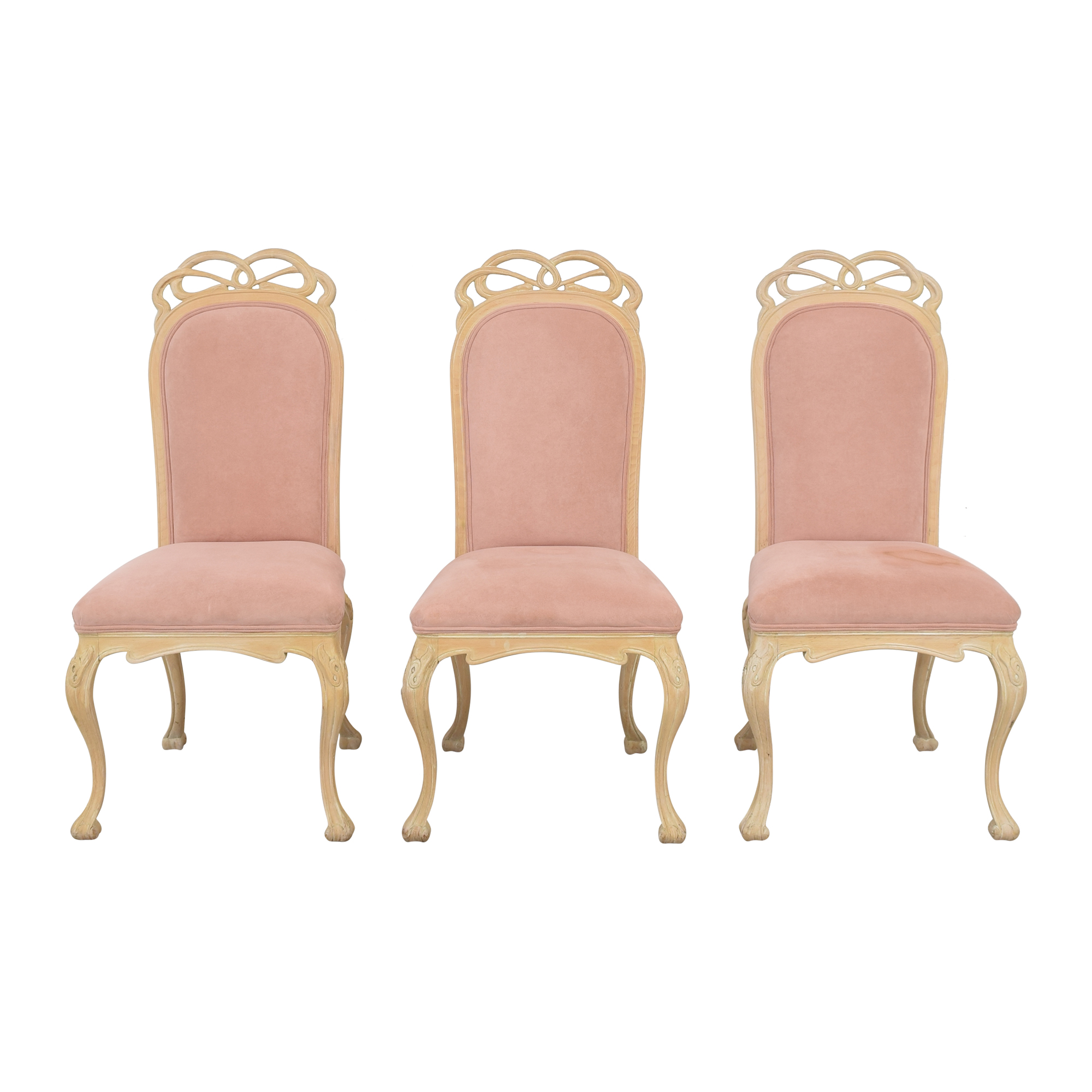 High Back Upholstered Dining Chairs second hand