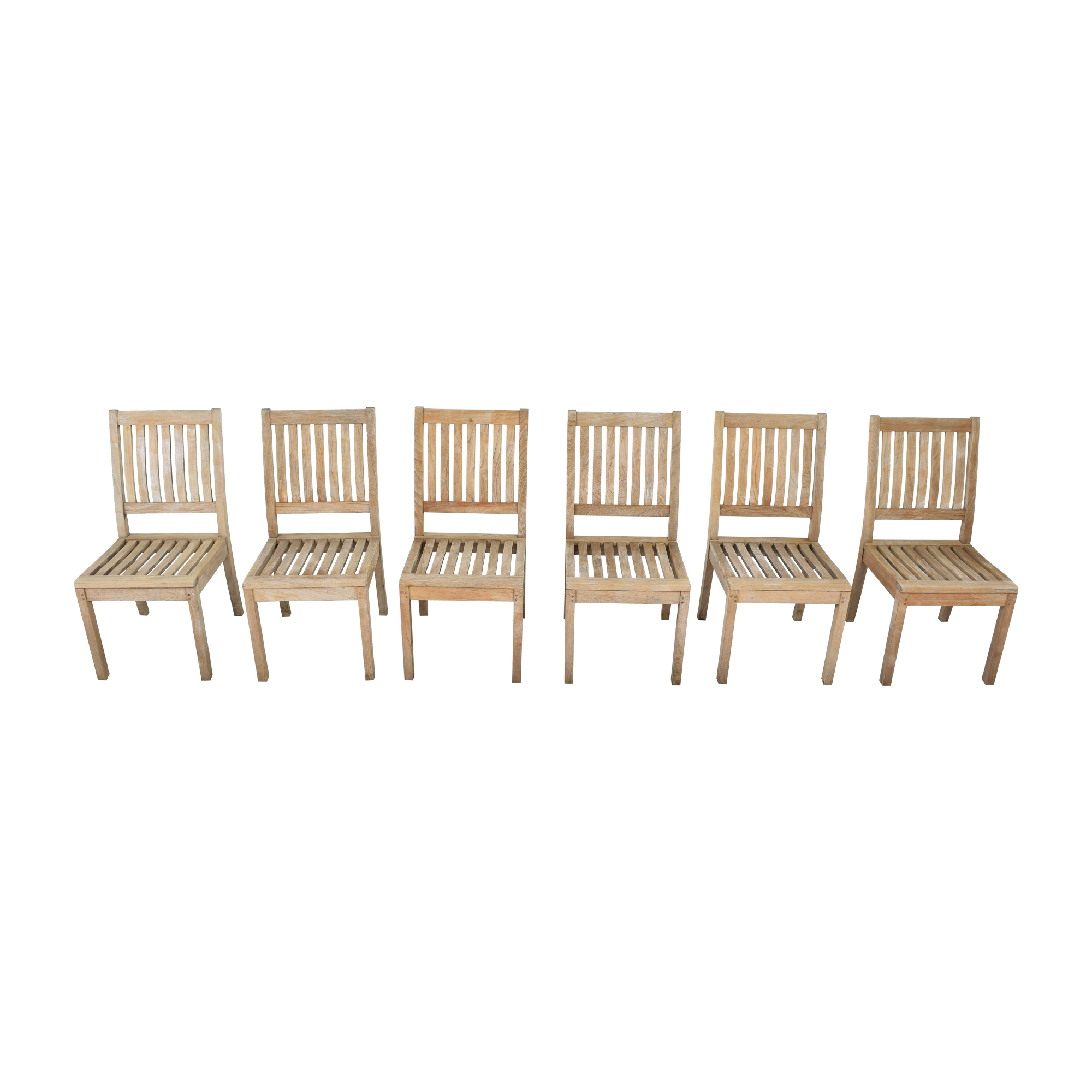 Gloster Gloster Wooden Dining Chairs brown
