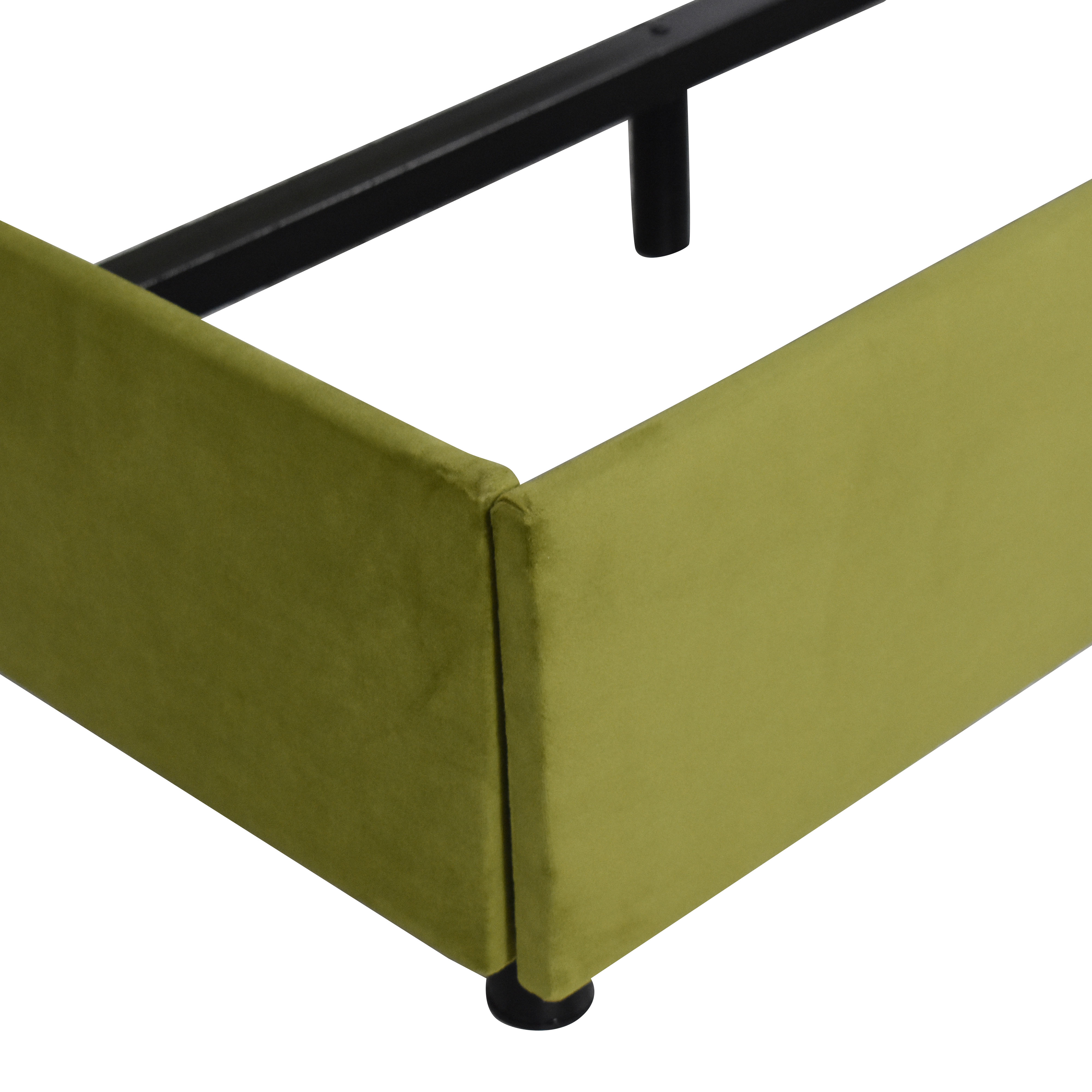 shop The Inside Modern Wingback King Bed The Inside Bed Frames