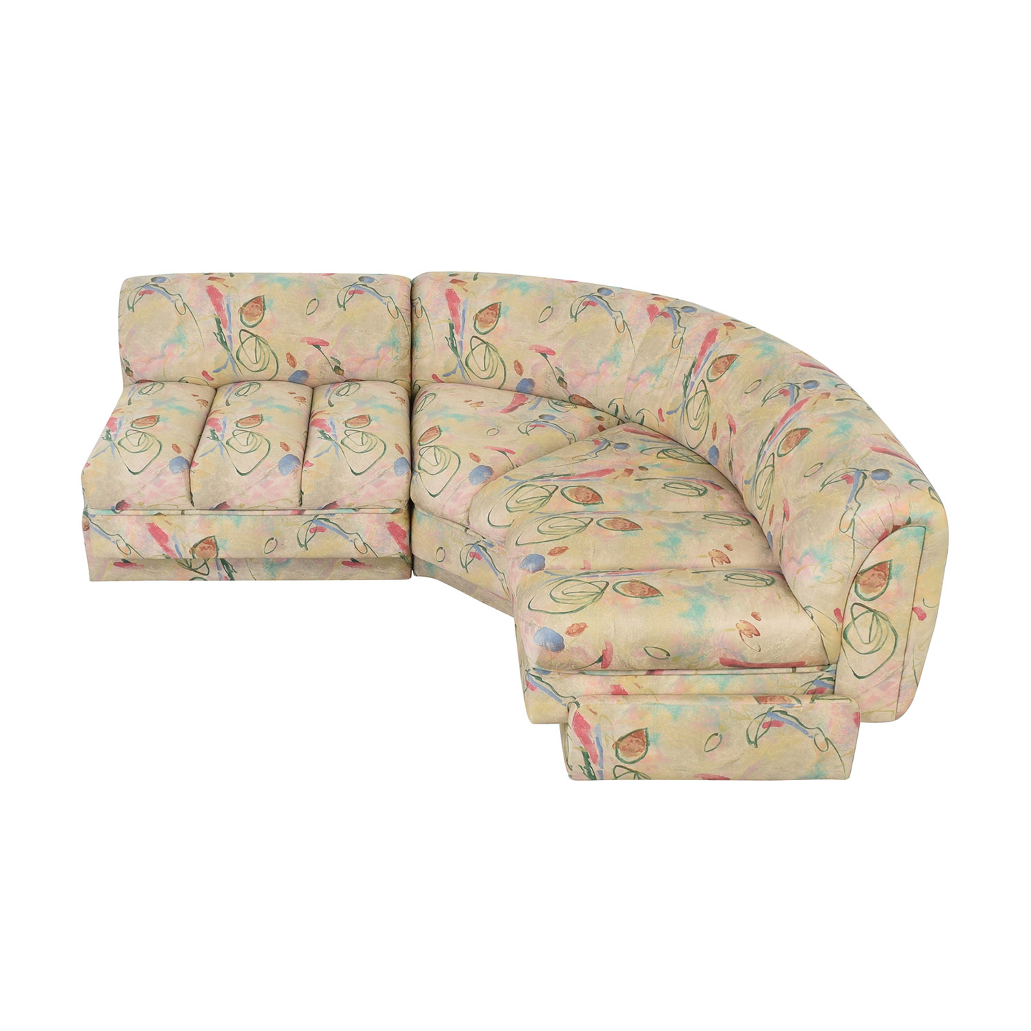 Directional Furniture Directional Furniture Floral Two Piece Sectional price