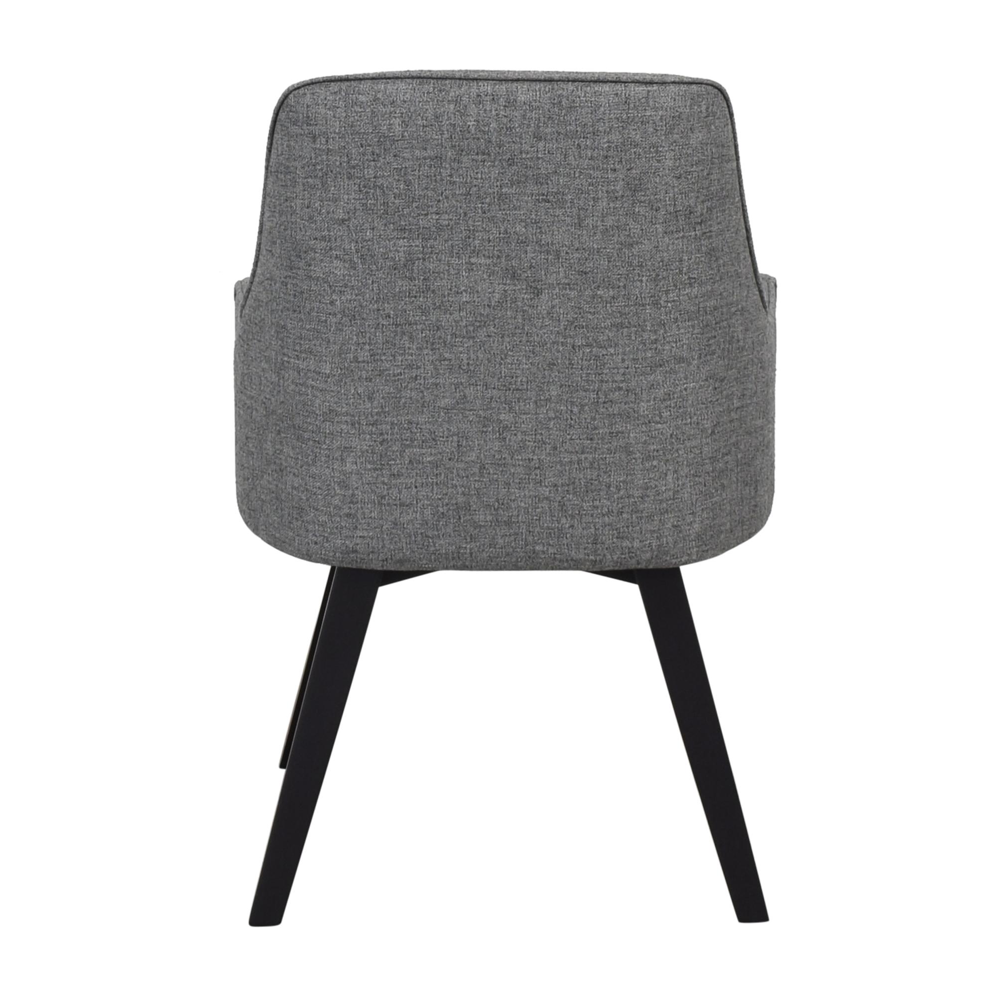 Crate & Barrel Crate & Barrel Harvey Black Chair nyc