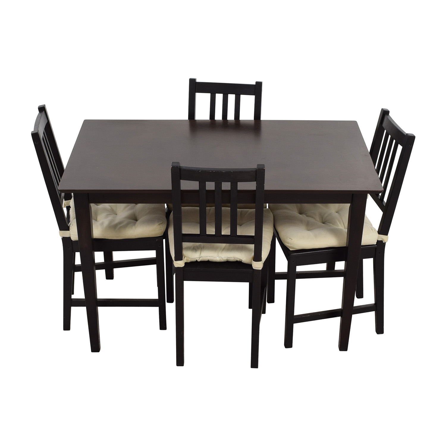 Dining Room Furniture Sets Ikea: IKEA IKEA Brown Wood Dining Set / Tables