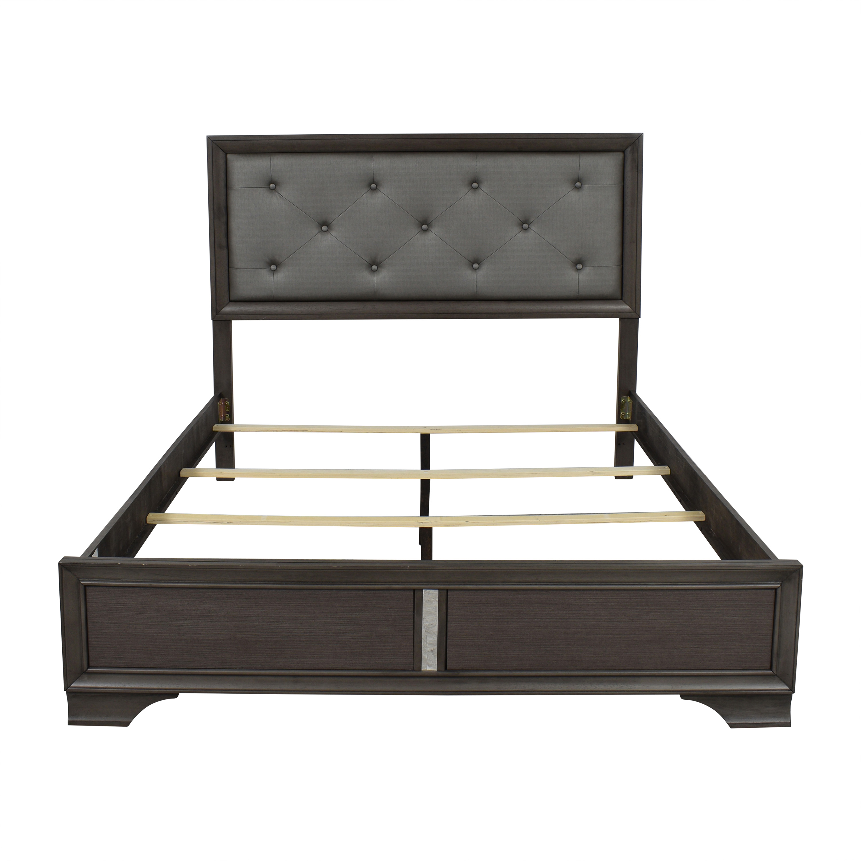 buy Upholsted Queen Bed Frame  Beds