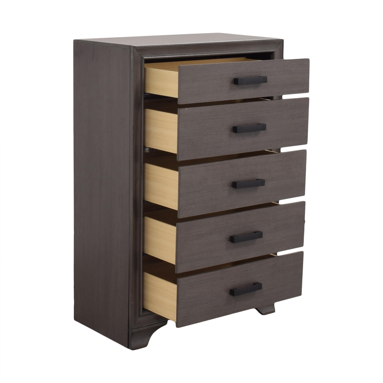 Tall Five Drawer Dresser nj