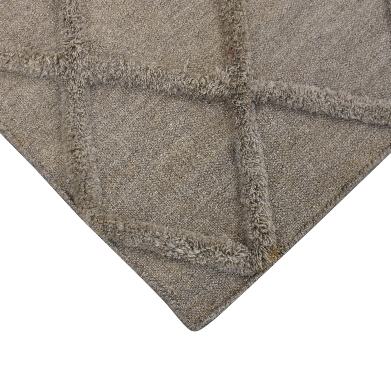 Restoration Hardware Restoration Hardware Ben Soleimani Diamante Flatweave Linen Rug price