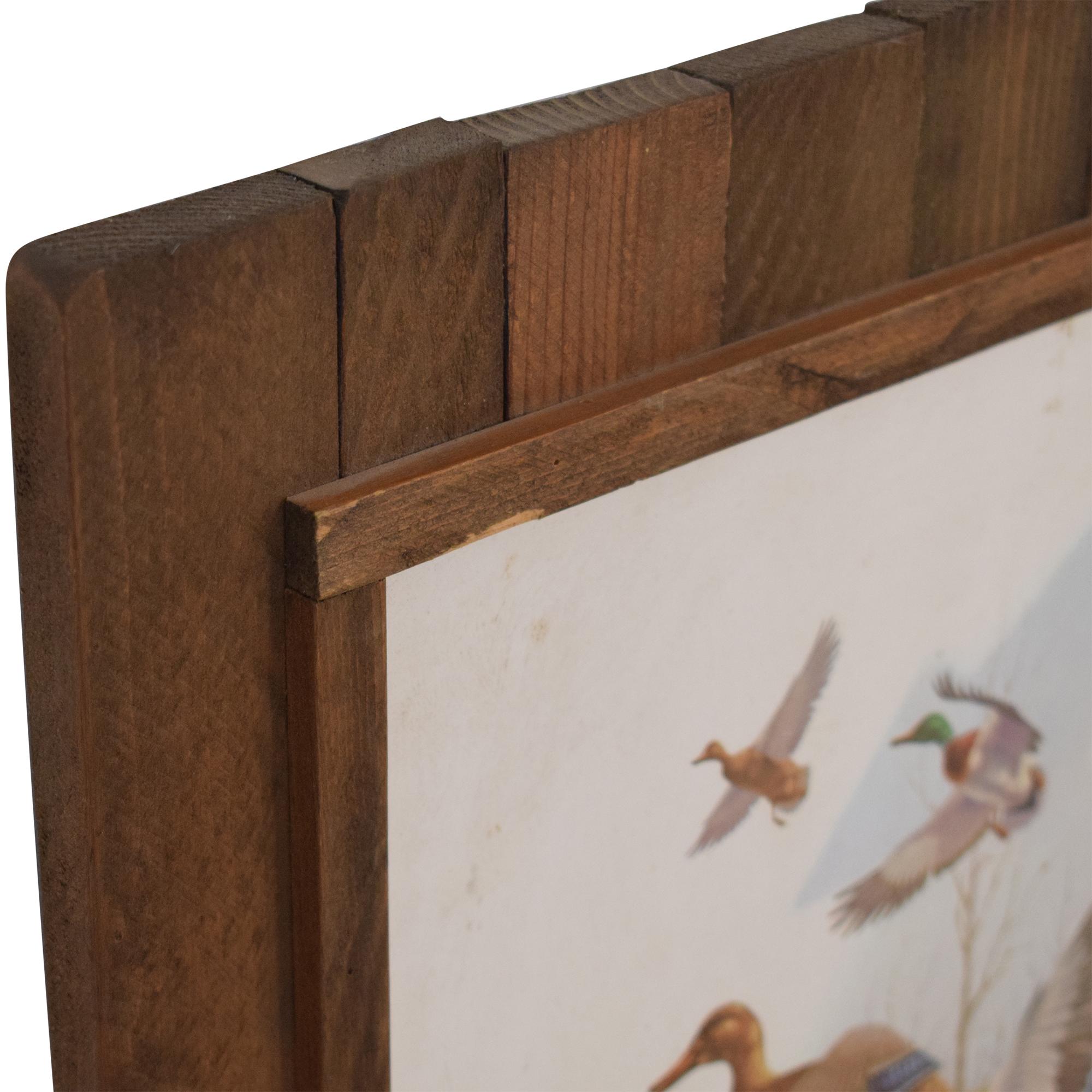 Douglas Van Howd Wood Panel Wall Art sale