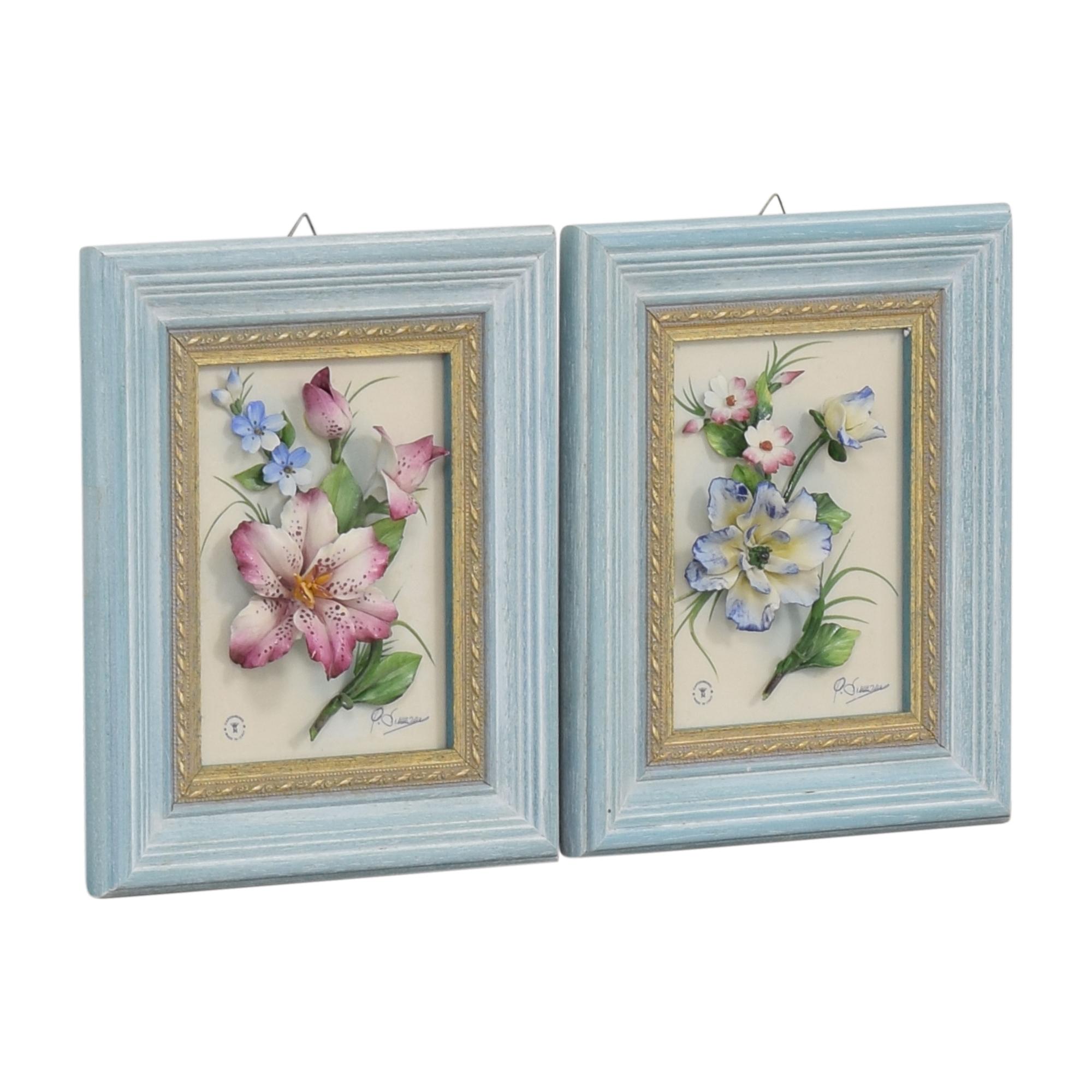 Framed Botanical Box Art price