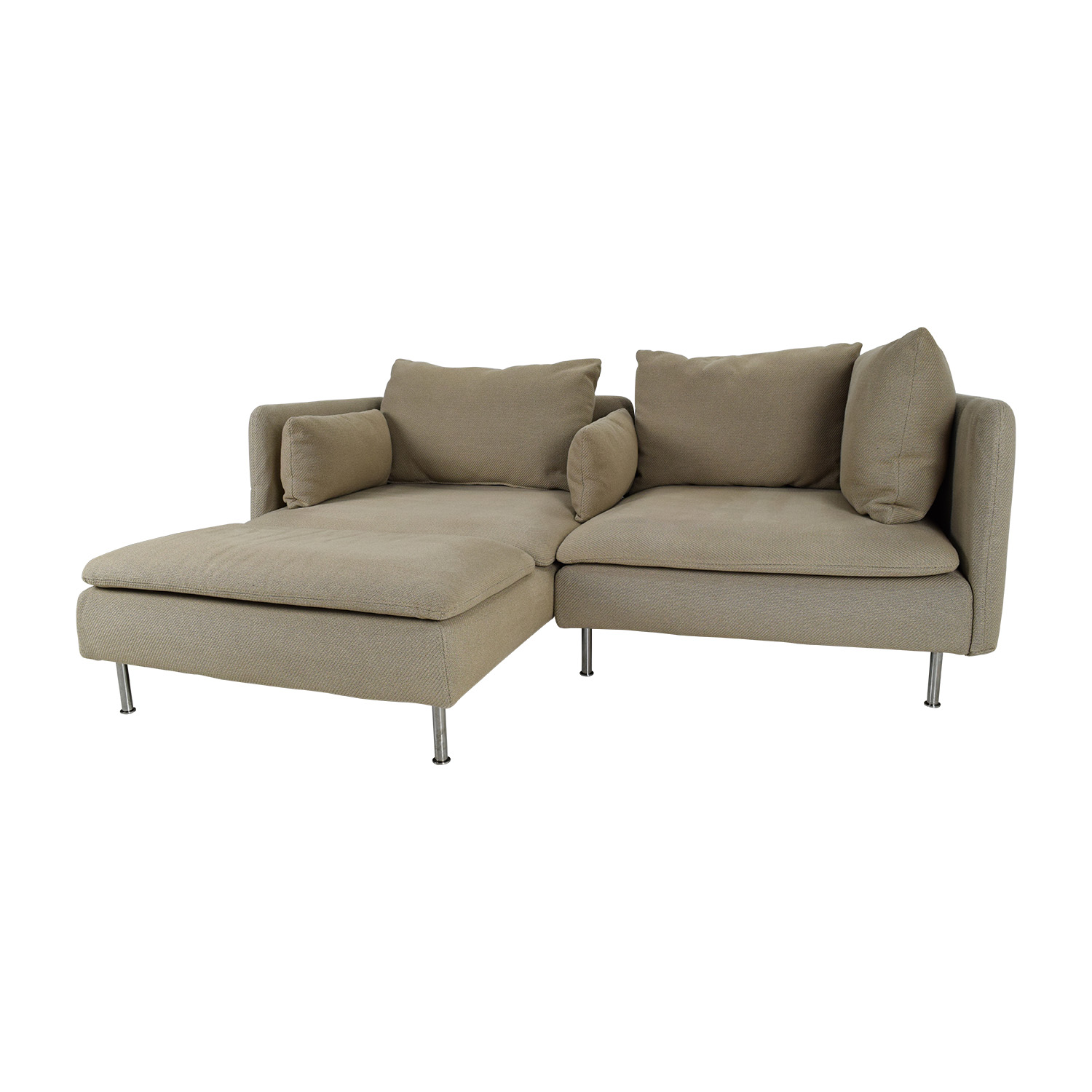 50% OFF IKEA Soderhamn Sectional Sofa Sofas