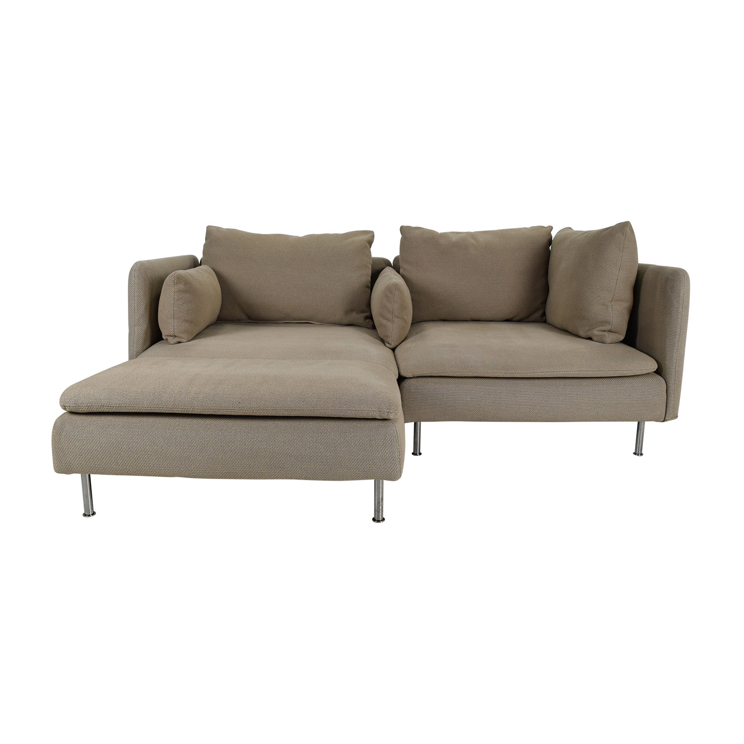 50 off ikea soderhamn sectional sofa sofas for Ikea sofa set