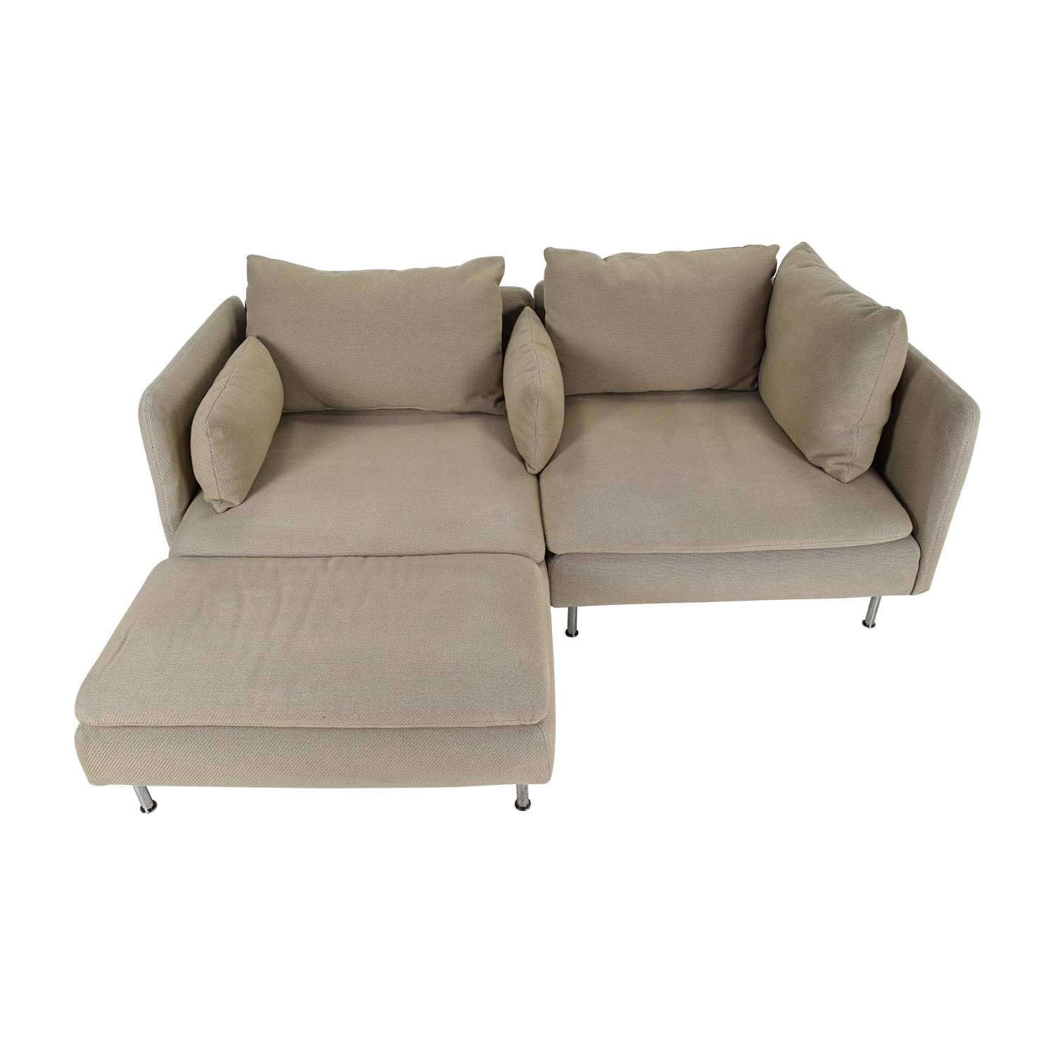 50 off ikea soderhamn sectional sofa sofas for Sectional furniture