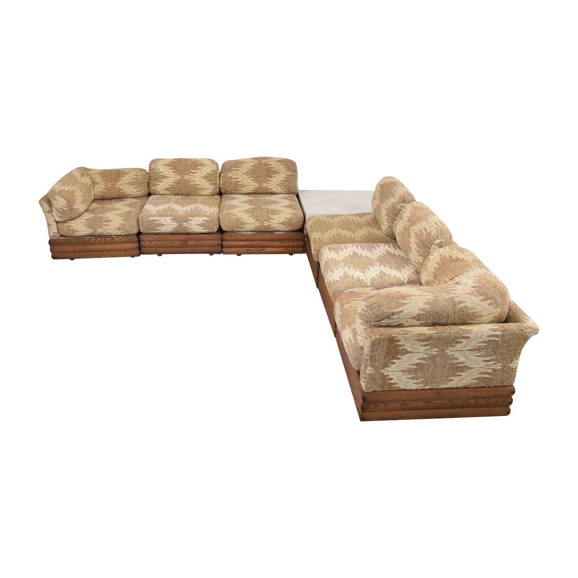 Royal Lounge Royal Lounge Sectional Sofa with Corner Table for sale