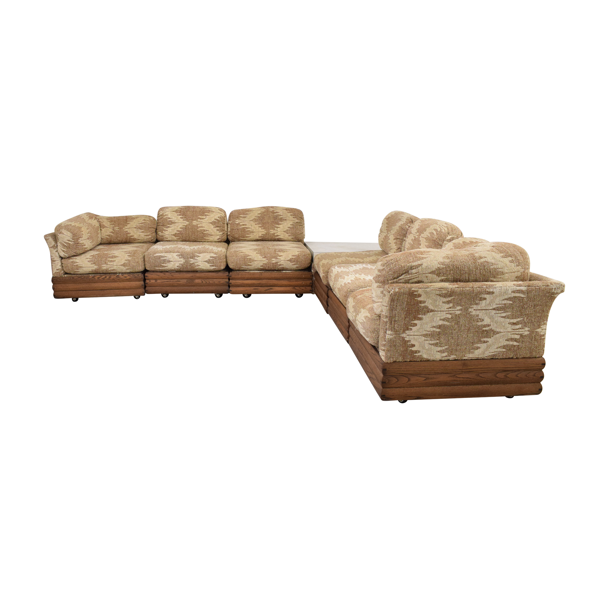 Royal Lounge Sectional Sofa with Corner Table Royal Lounge