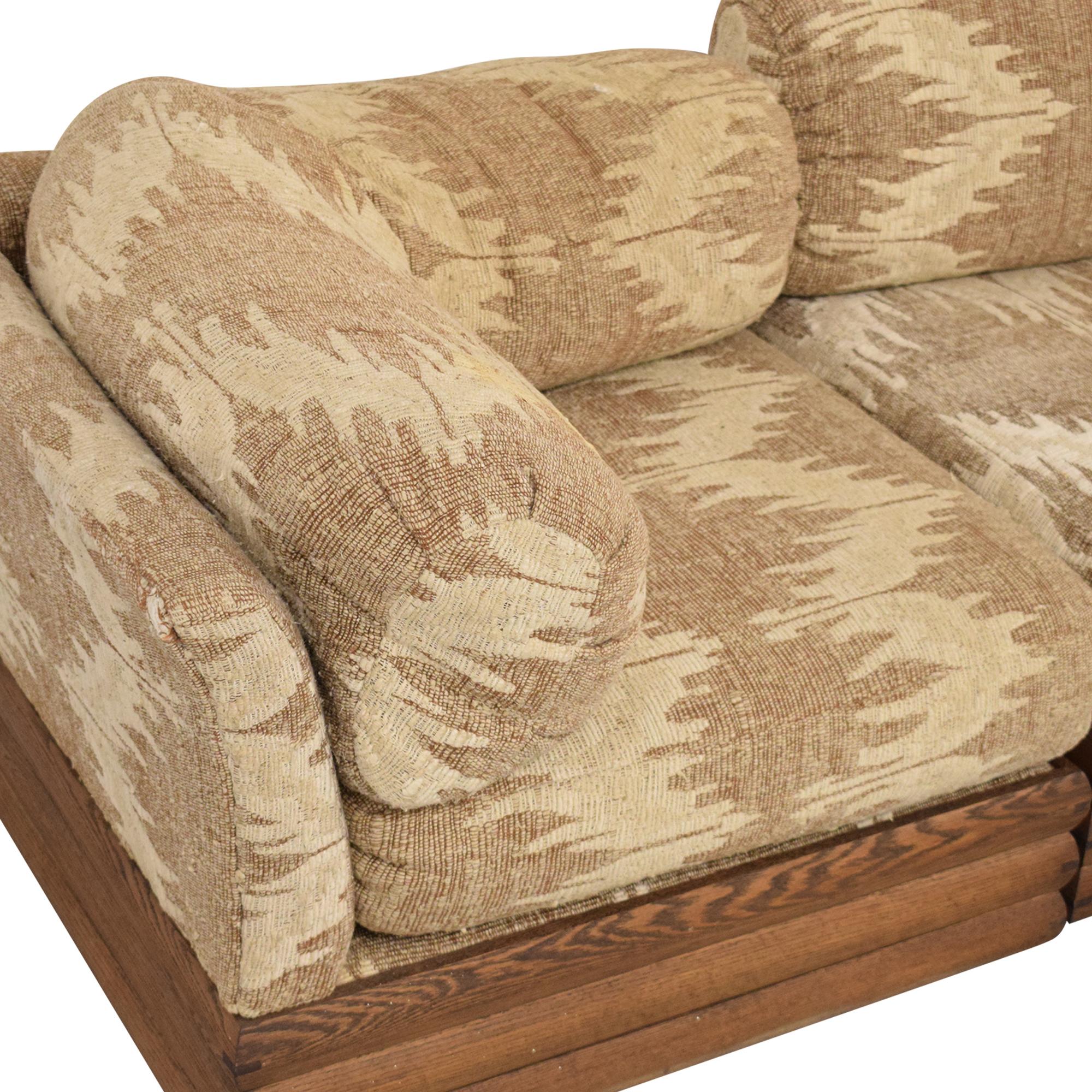Royal Lounge Royal Lounge Sectional Sofa with Corner Table used