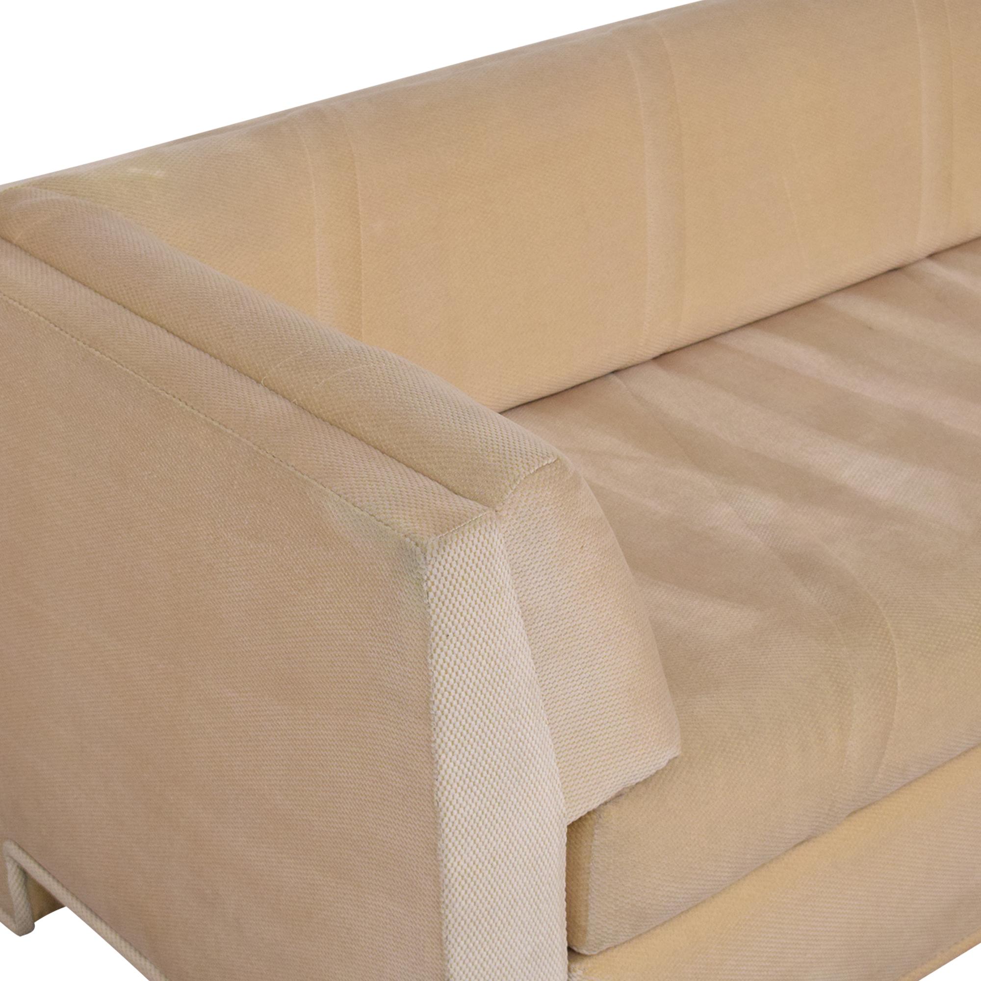 shop Custom Single Cushion Sofa