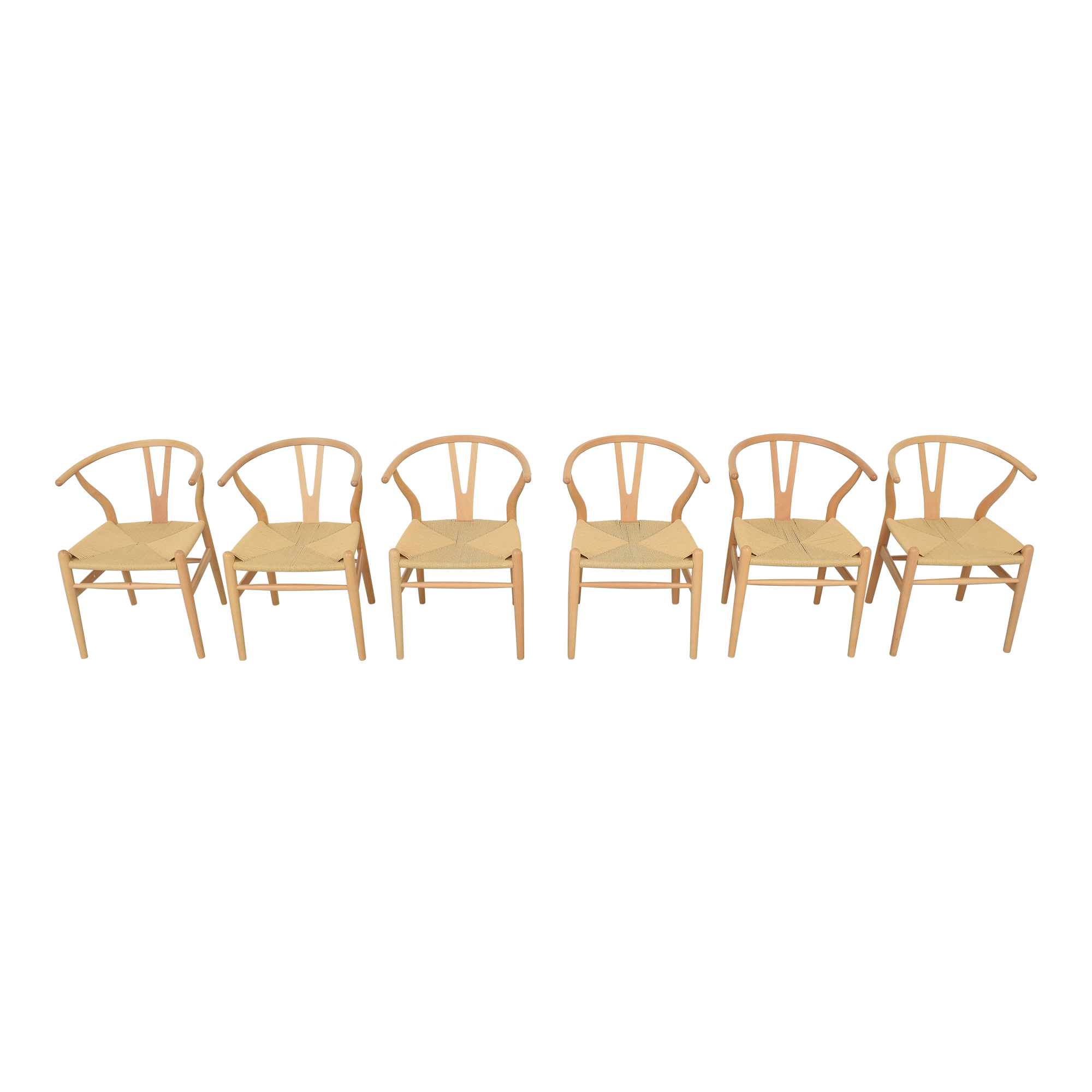 Baxton Studio Baxton Studio Wishbone Modern Brown Wood Dining Chairs dimensions