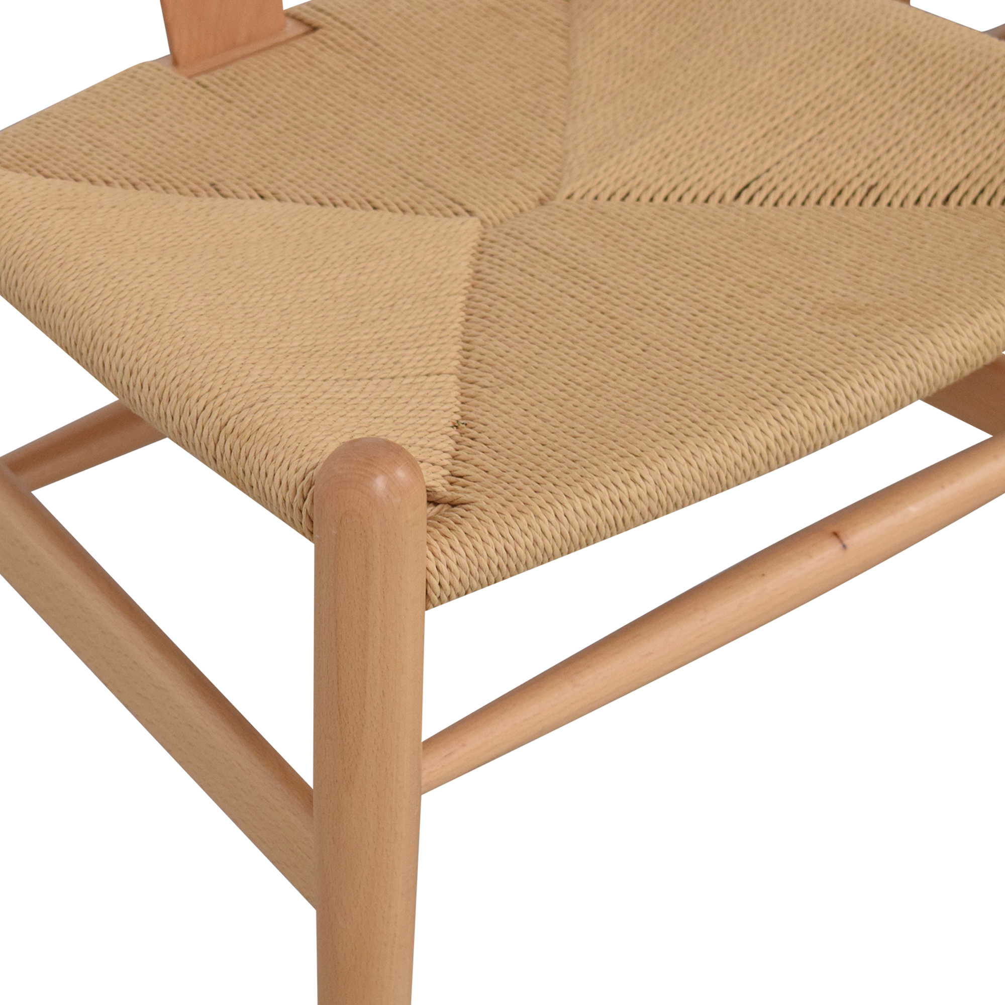 Baxton Studio Baxton Studio Wishbone Modern Brown Wood Dining Chairs for sale