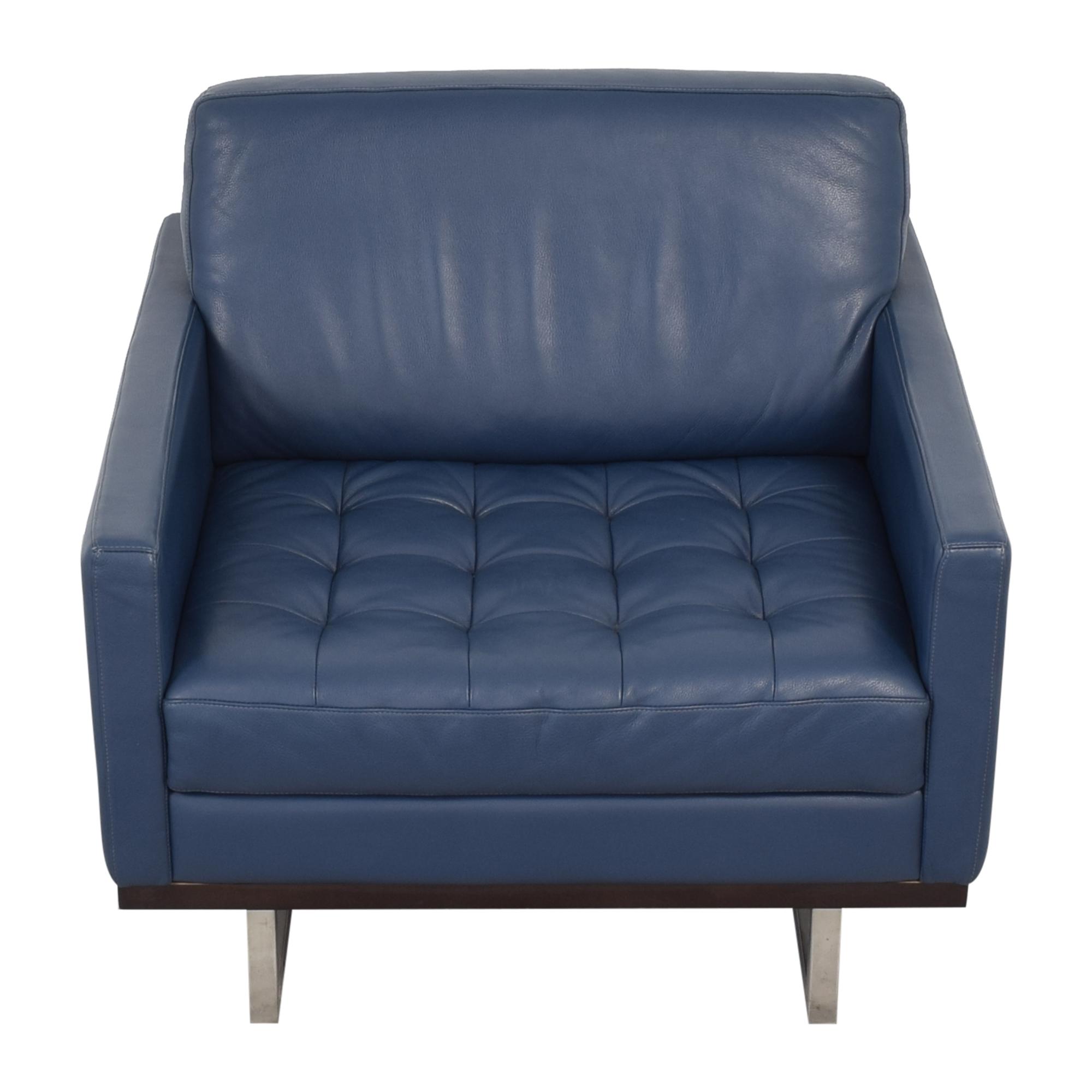 American Leather Tristan Club Chair sale