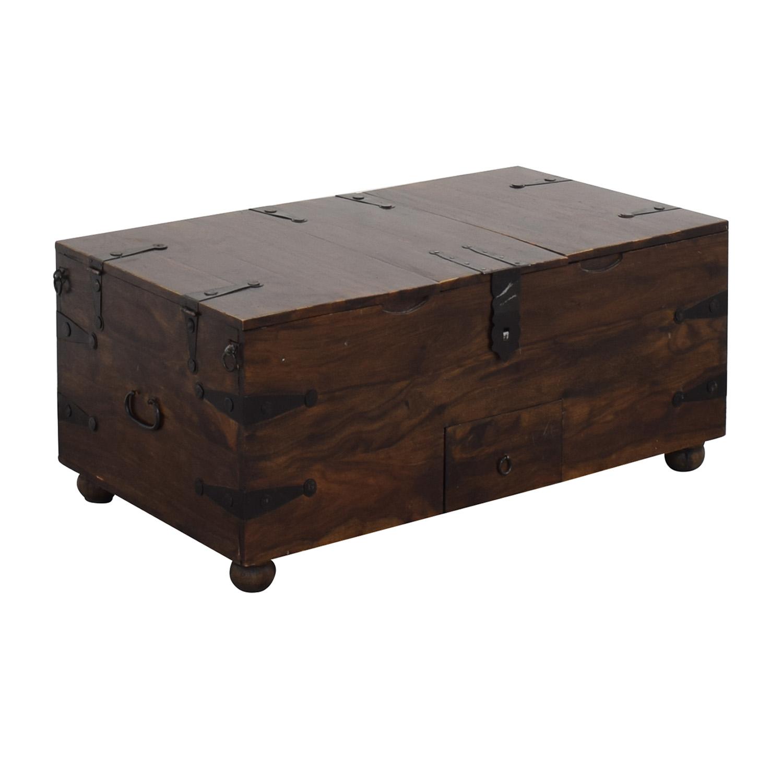 Vintage Storage Trunk or Coffee Table on sale