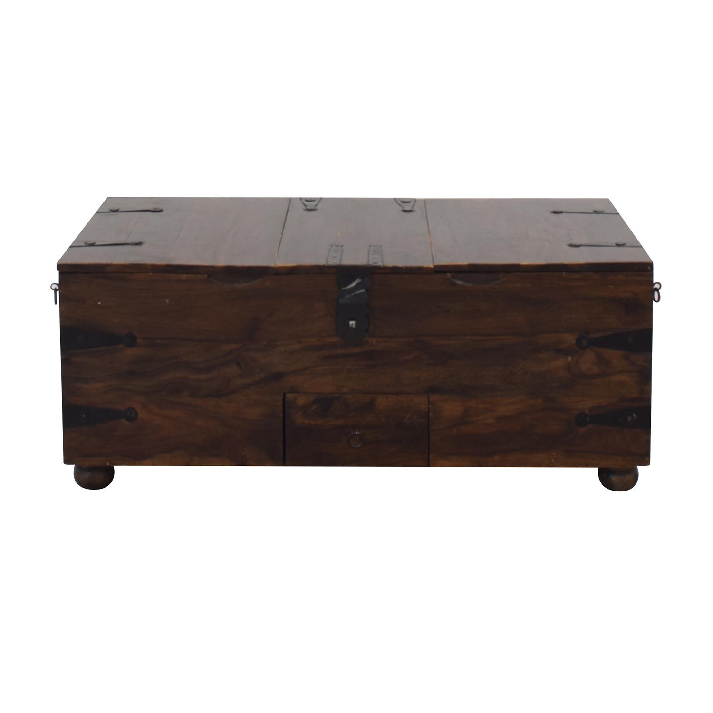 Vintage Storage Trunk or Coffee Table used