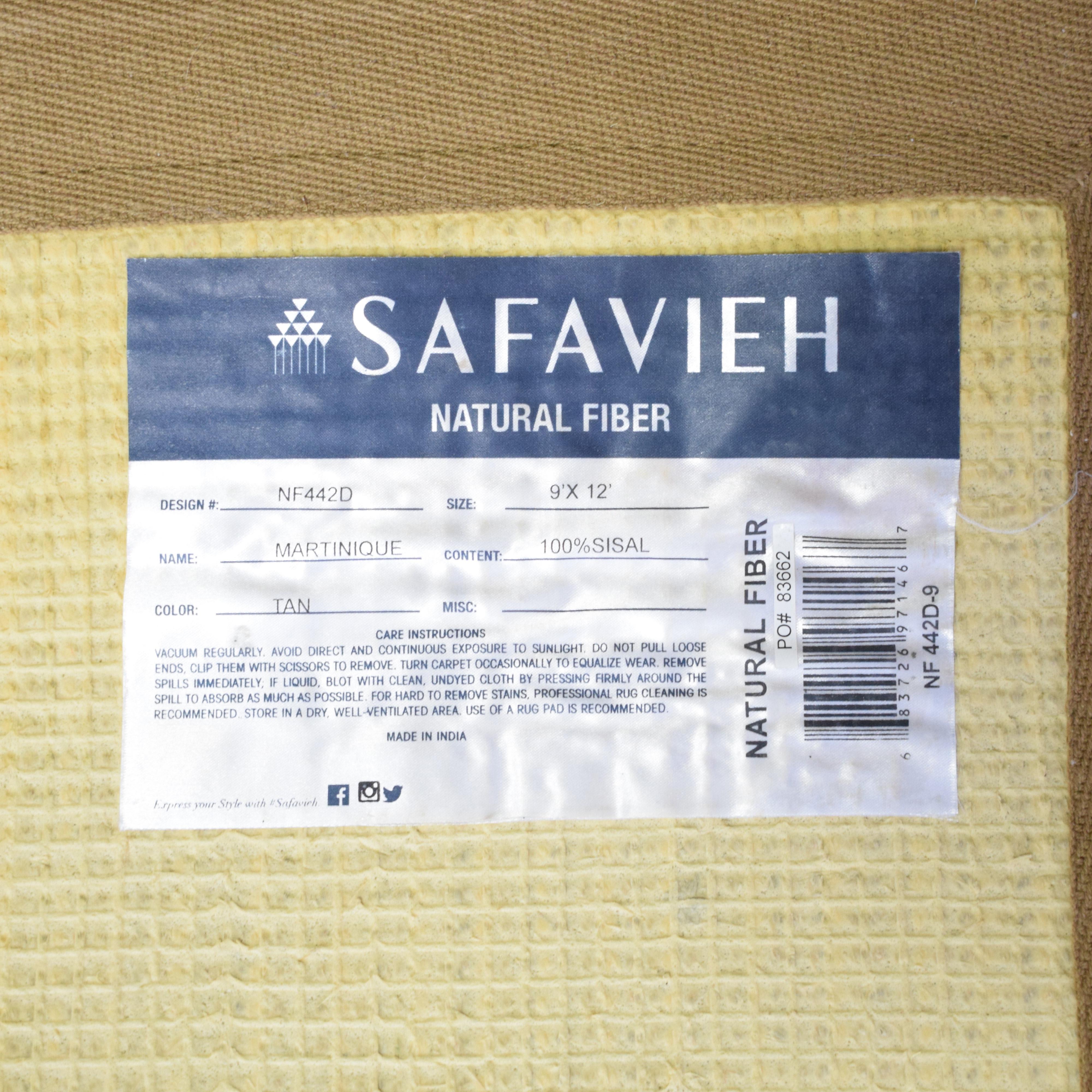 Safavieh Safavieh 9x12 Sisal Rug Rugs