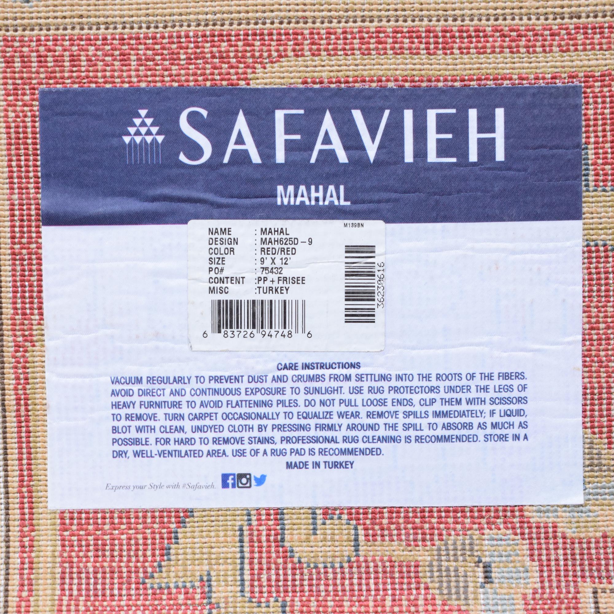 Safavieh Safavieh Mahal 9x12 Rug Rugs