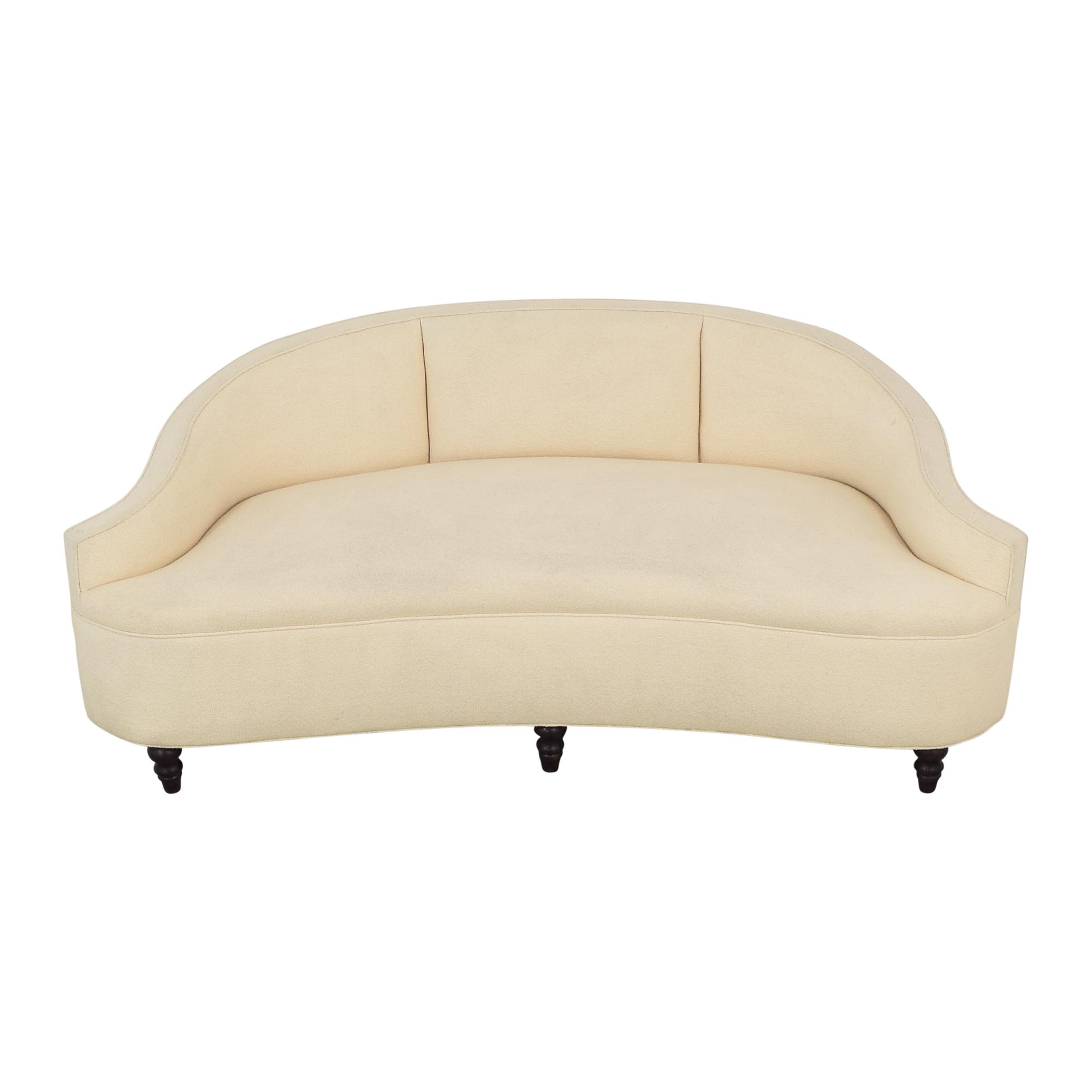 Summer Hill Crescent Upholstered Sofa nj