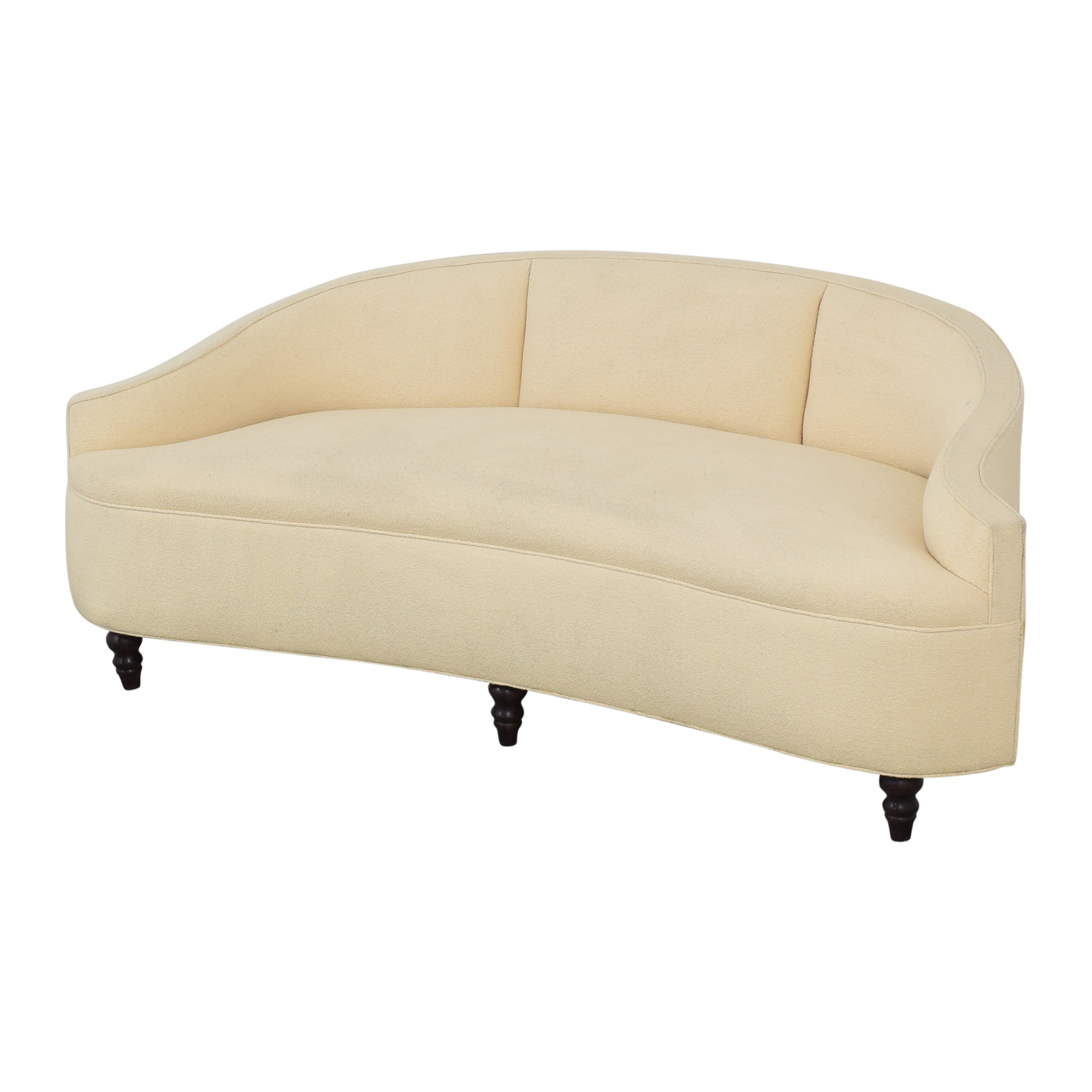 Summer Hill Crescent Upholstered Sofa pa