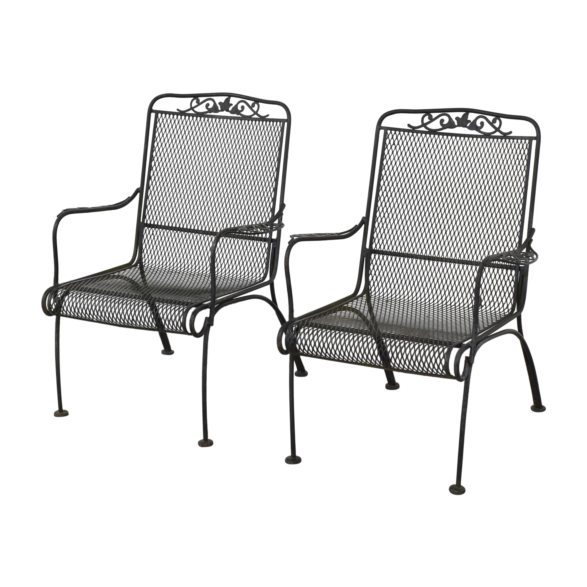 shop Iron Arm Chairs  Chairs