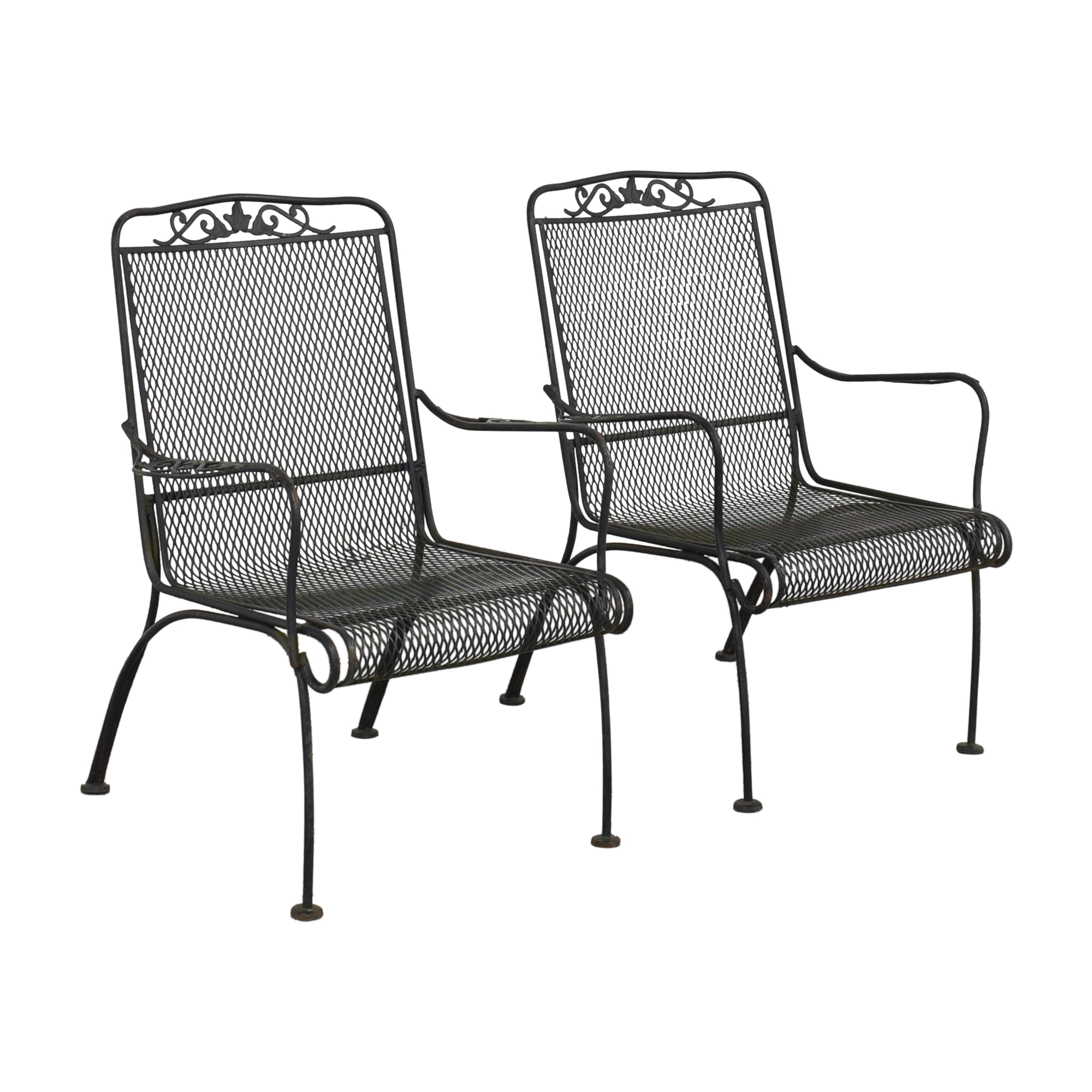 Iron Arm Chairs ct