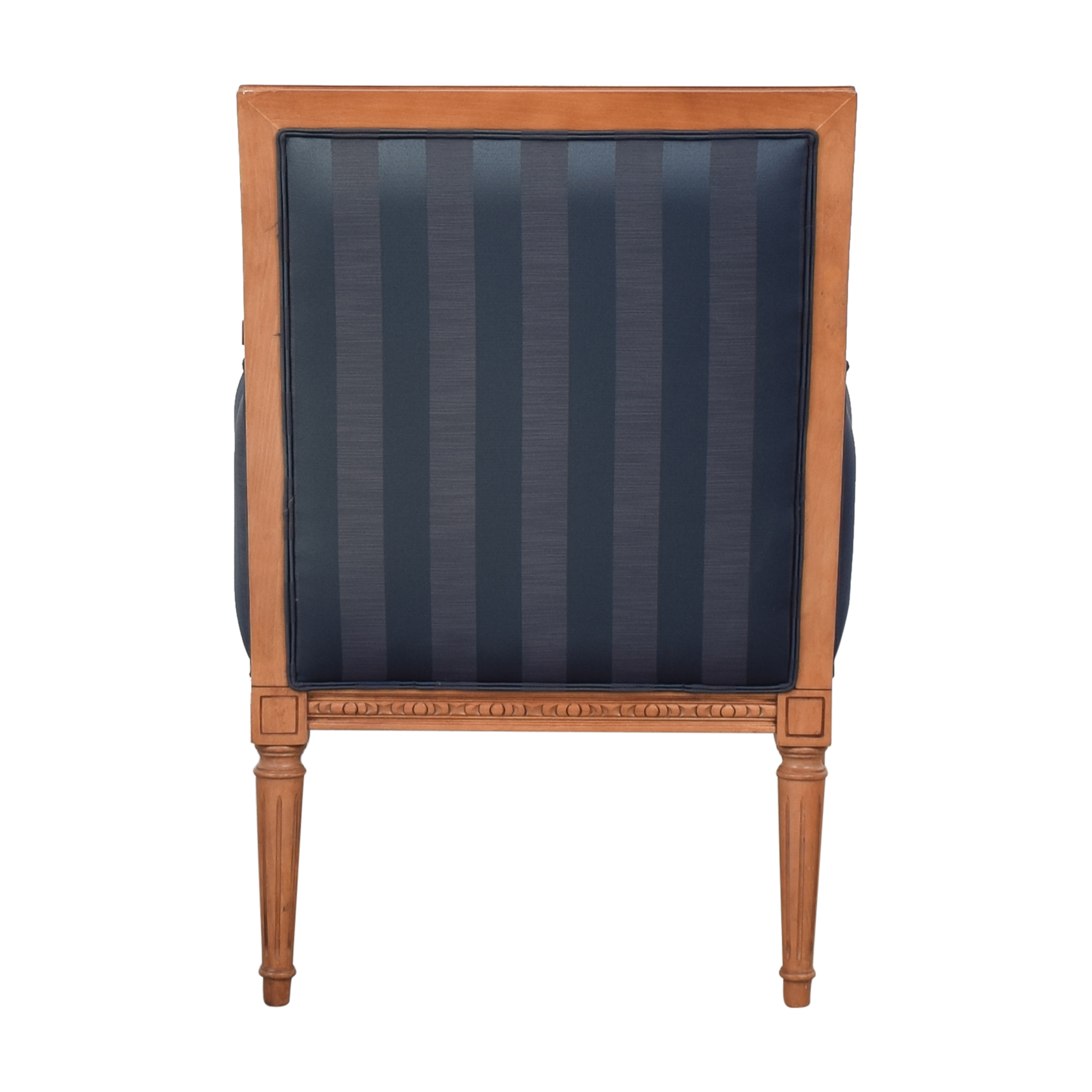 Ethan Allen Ethan Allen Gisele Chair blue and brown