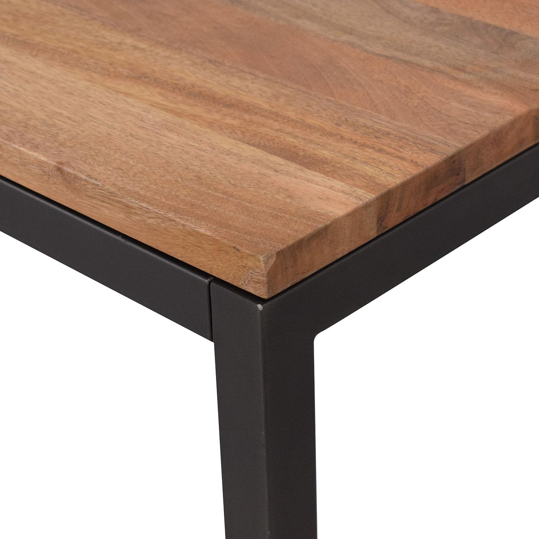 West Elm West Elm Box Frame Dining Table dimensions