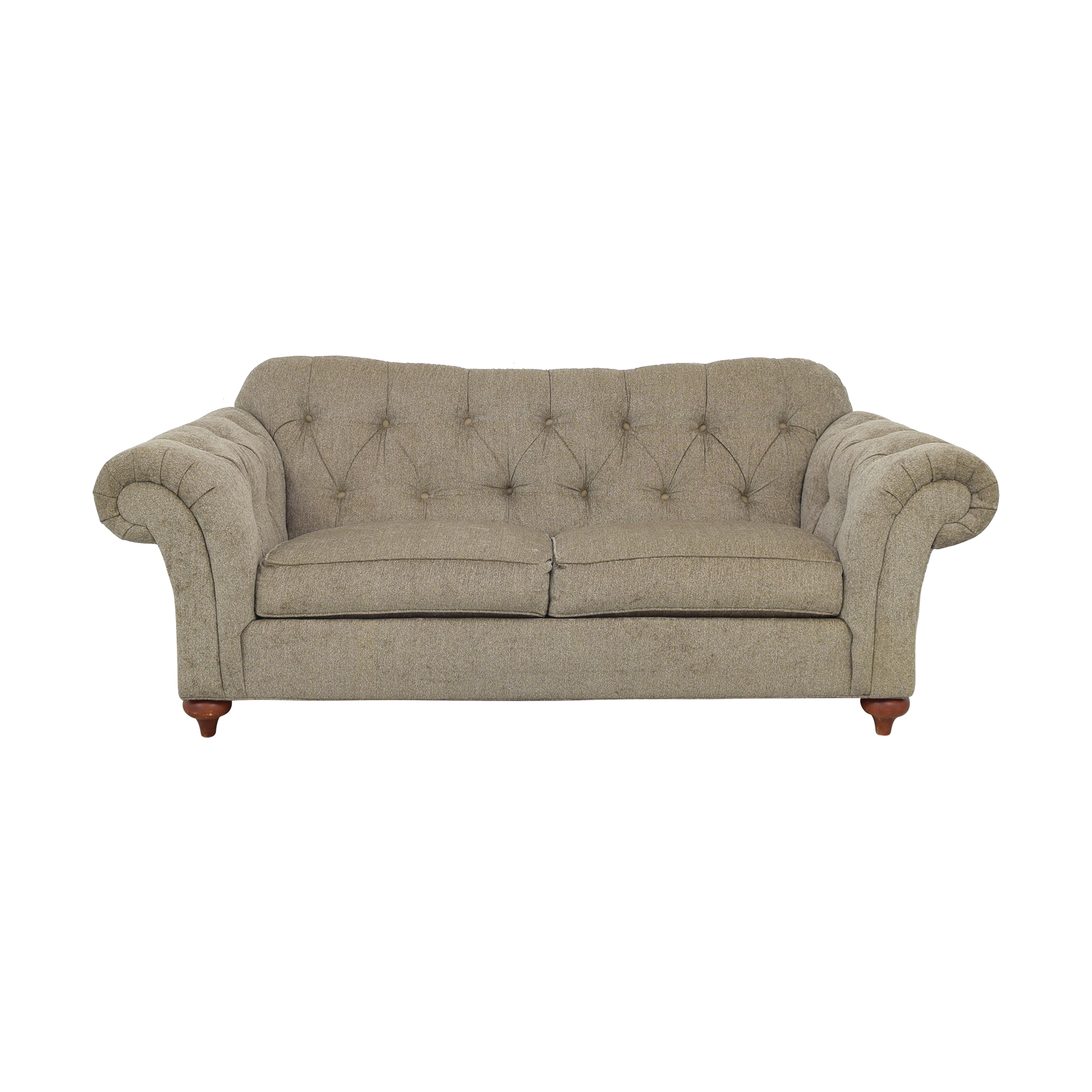 Ethan Allen Ethan Allen Two Cushion Sofa Classic Sofas