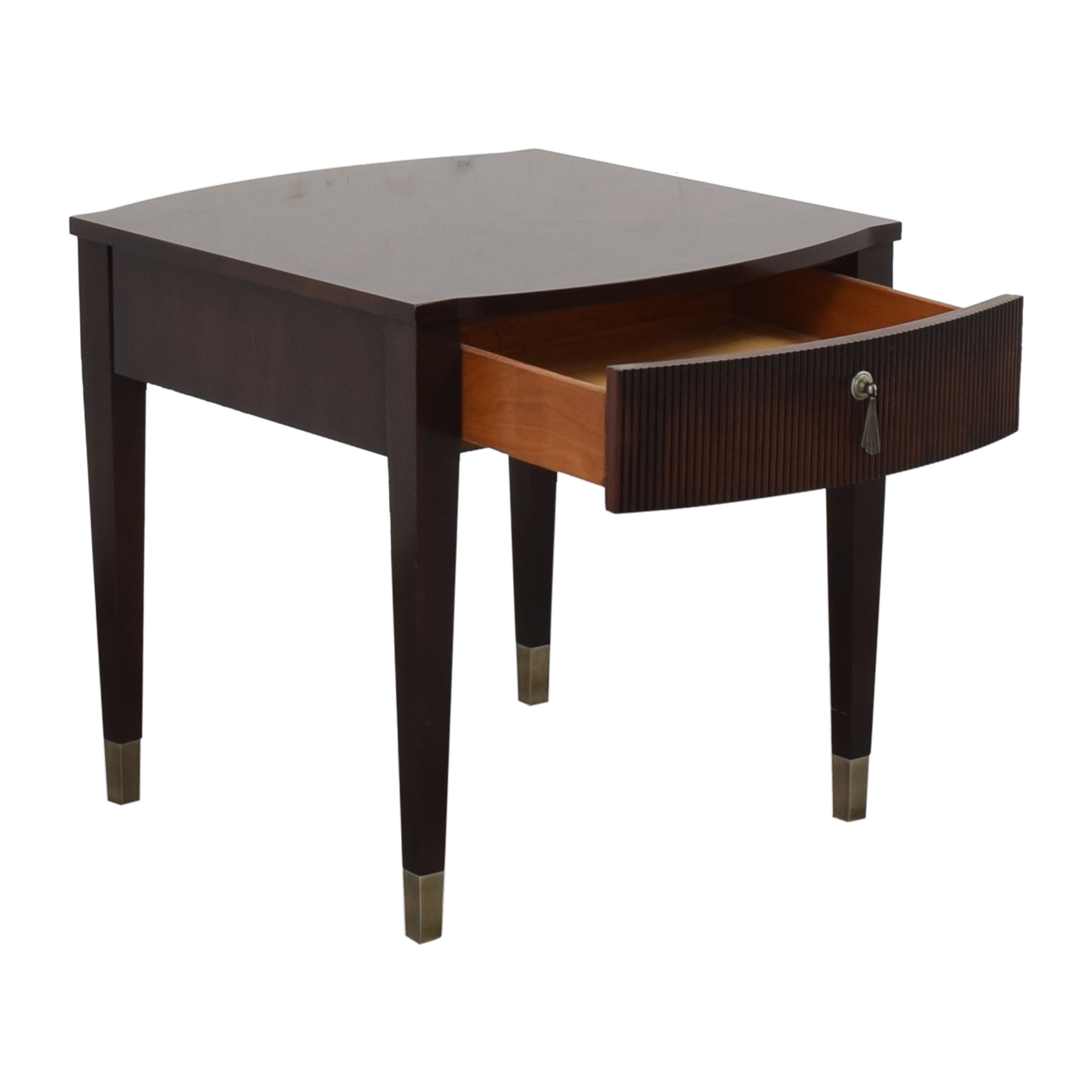 Ethan Allen Ethan Allen Avenue End Table dark brown