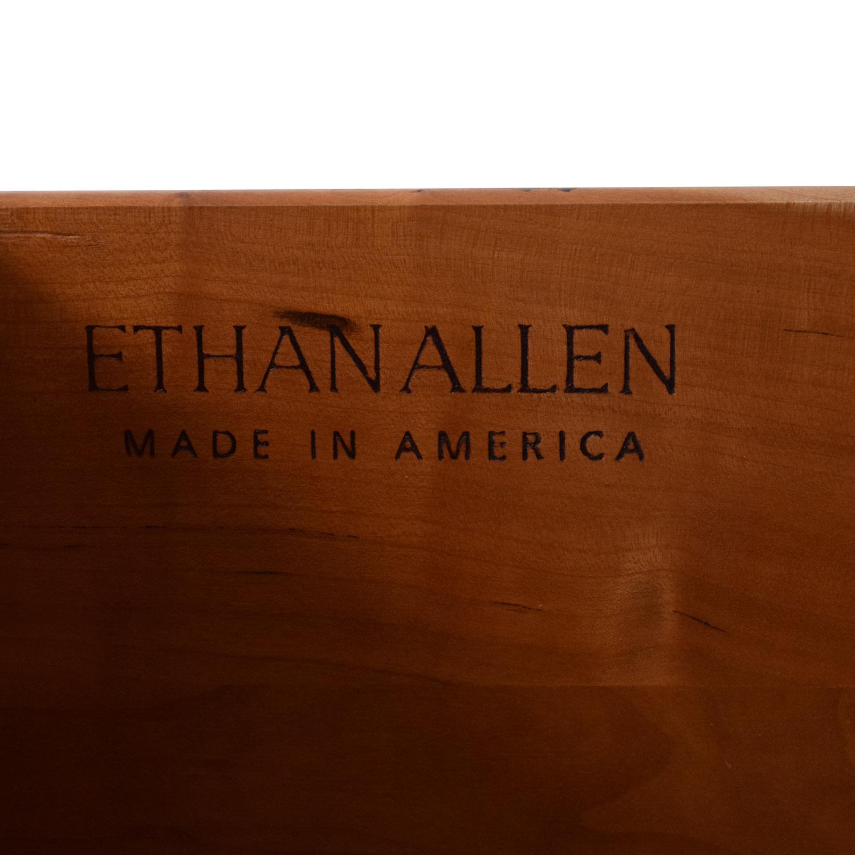 Ethan Allen Avenue Curved Six Drawer Dresser Ethan Allen