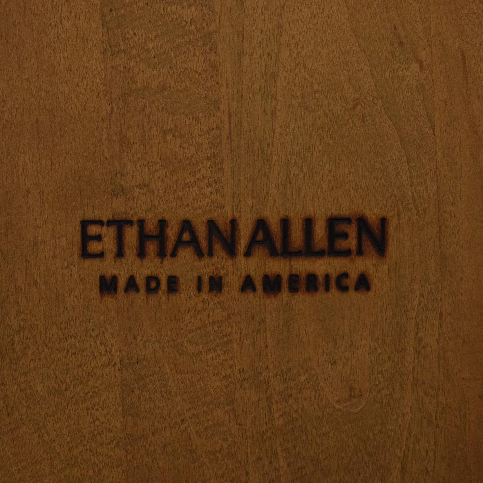 Ethan Allen Ethan Allen Legacy Russet Bar Stools ct