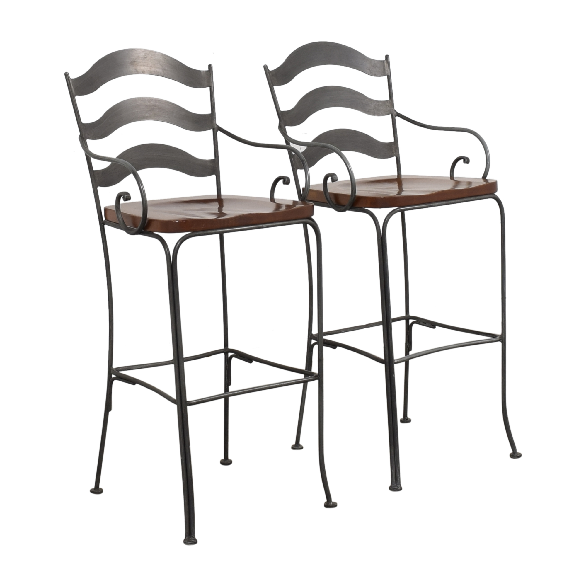 Ethan Allen Ethan Allen Legacy Russet Bar Stools Chairs