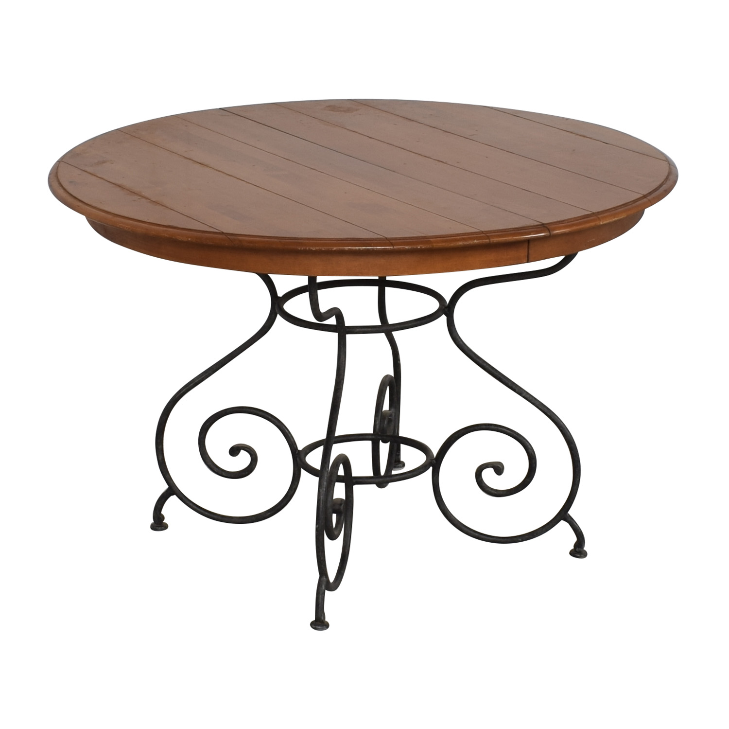 Ethan Allen Ethan Allen Legacy Russet Dining Table pa