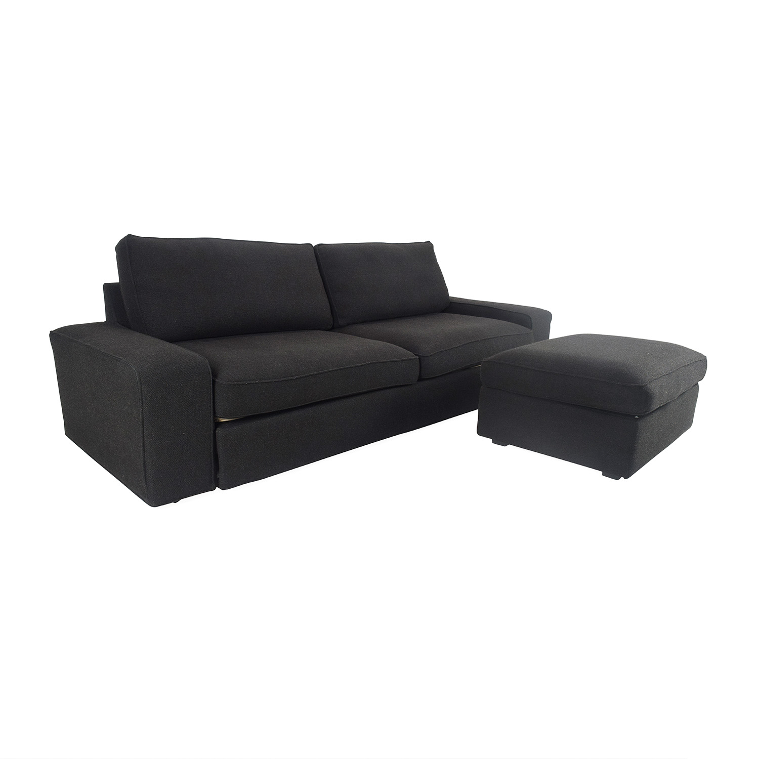81 off ikea ikea oversized sofa and ottoman sofas for Couch und sofa