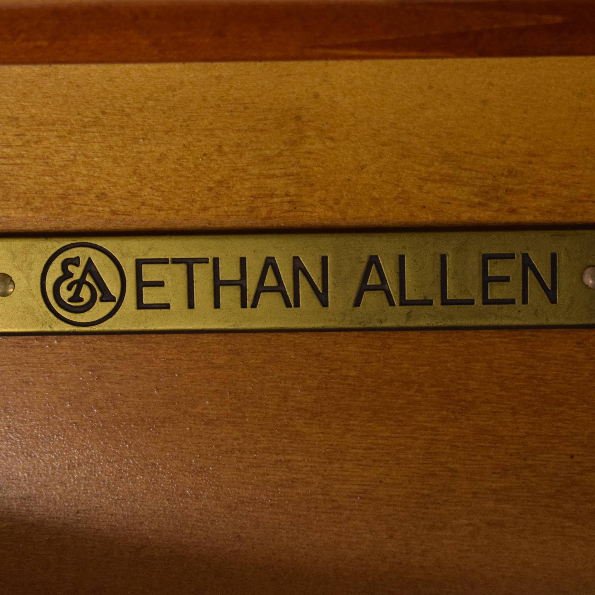 Ethan Allen Pedestal Table Ethan Allen