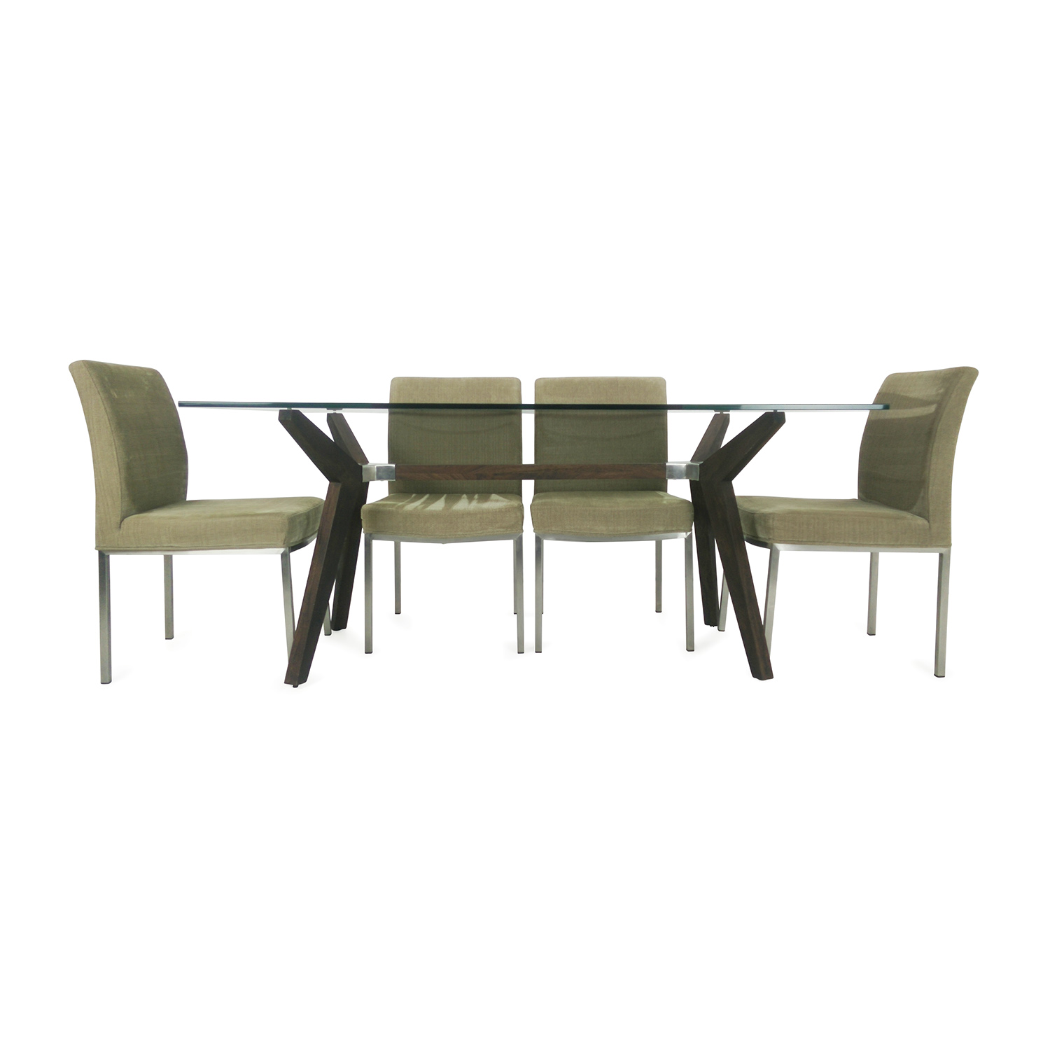 Crate & Barrel Dining Set Crate & Barrel