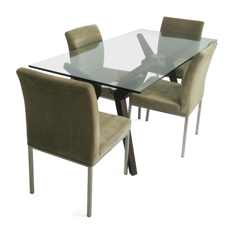 60% OFF - Crate & Barrel Crate & Barrel Dining Set / Tables