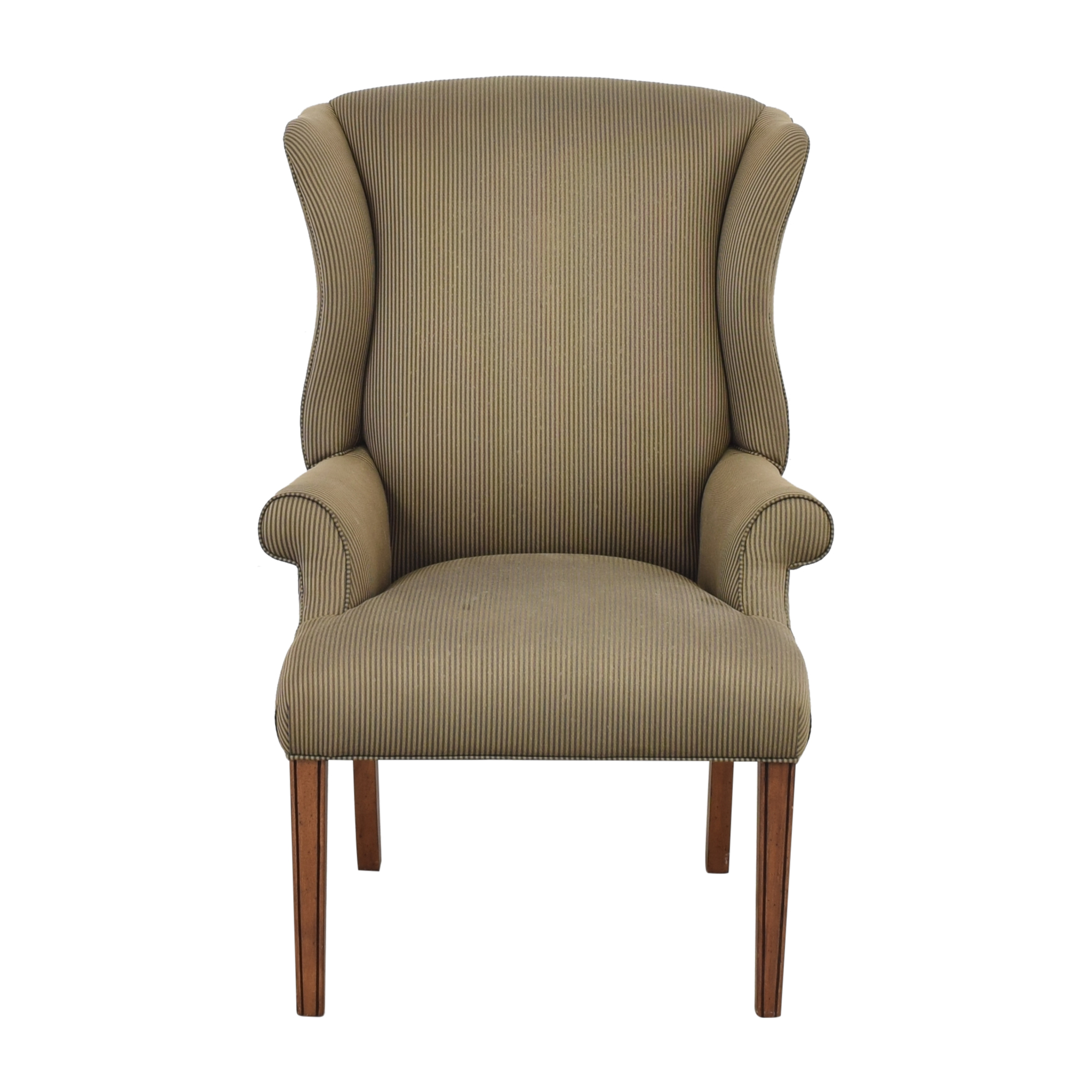 Ethan Allen Skylar Wing Chair sale