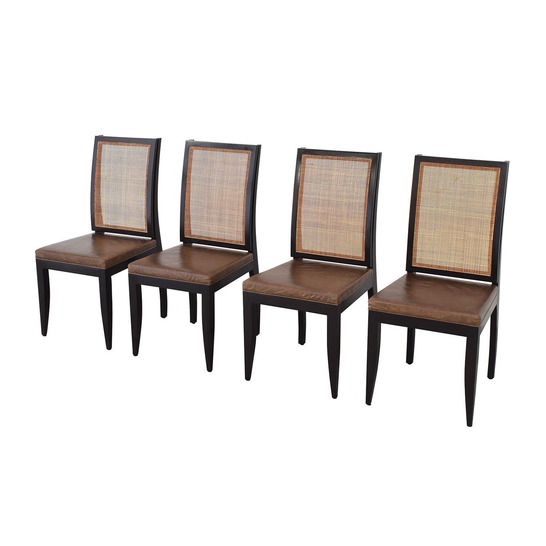 Etel Carmona Straw Chairs pa
